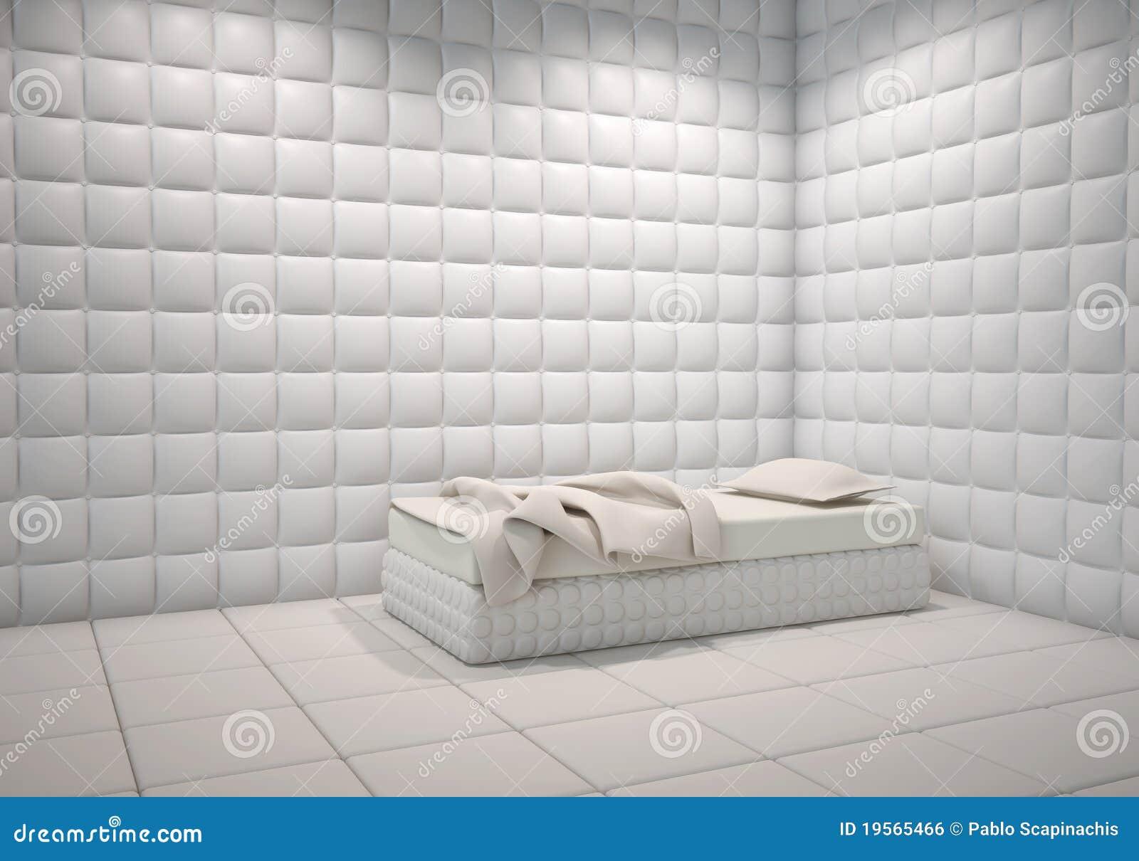 Mental Hospital Padded Room Royalty Free Stock Image ...