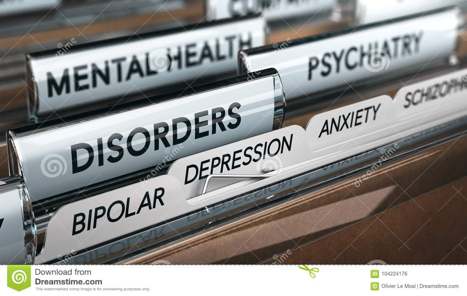 Mental Illness List, Psychiatric Disorders