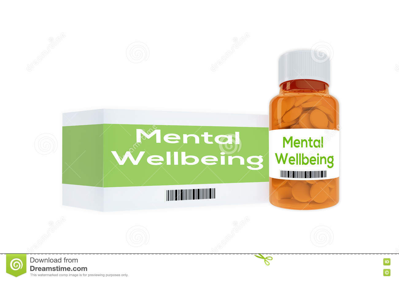 Mental Wellbeing - human personality concept