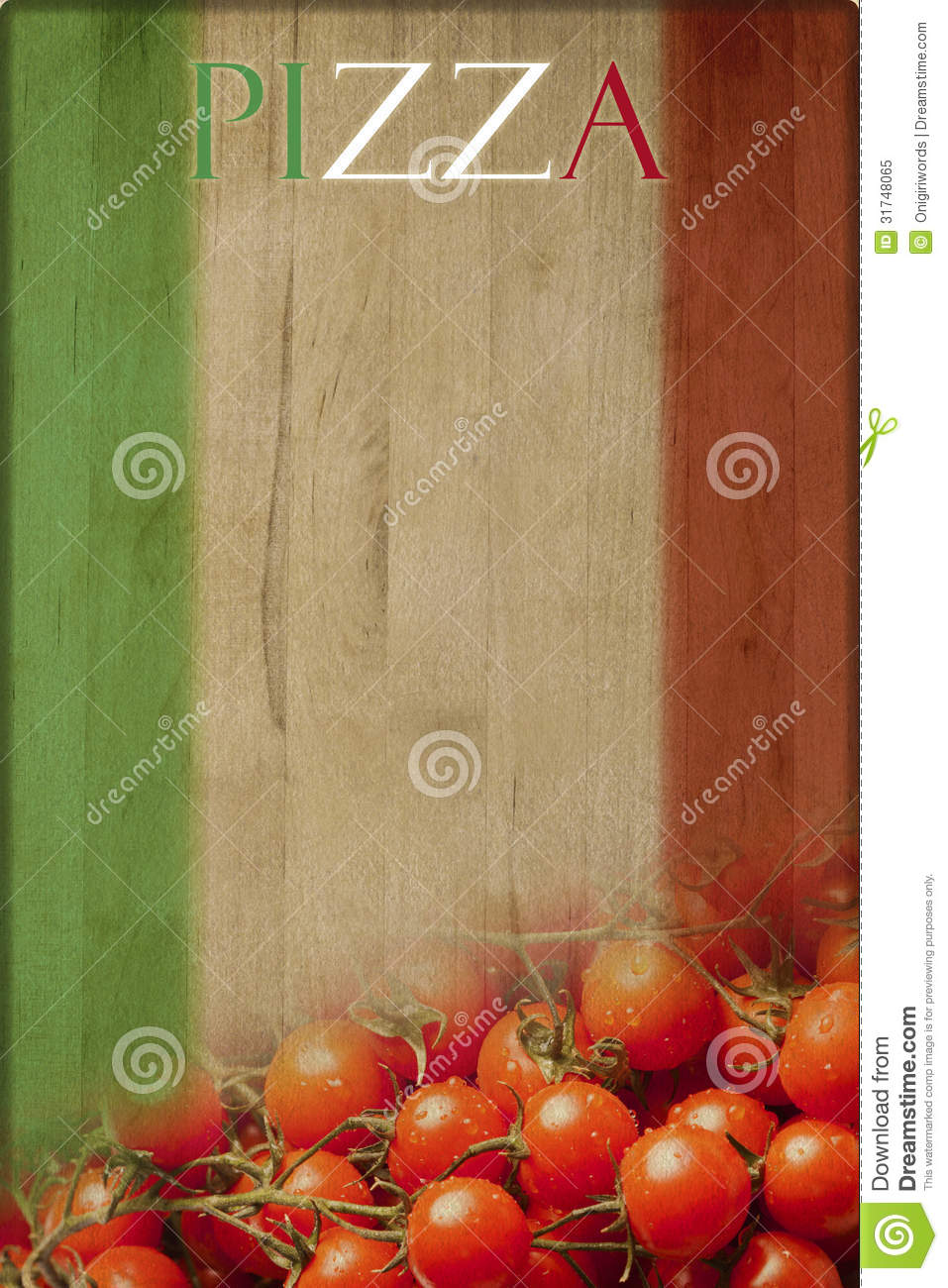 Menu Stock Image Of Restaurant Background Sign