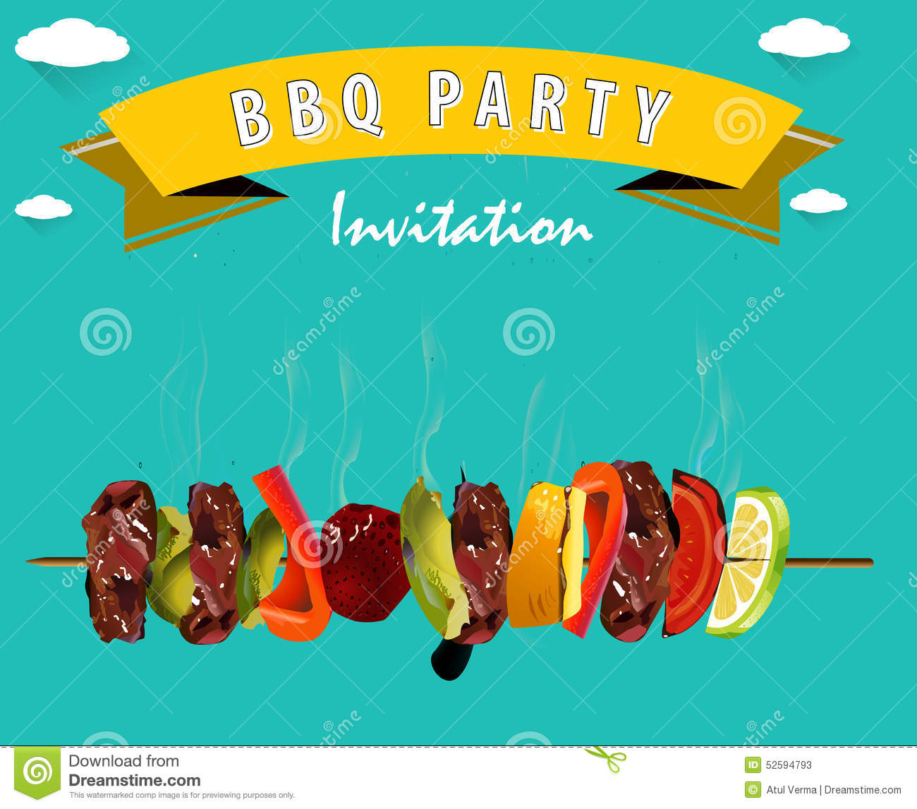 Invitation For Bbq as adorable invitations sample