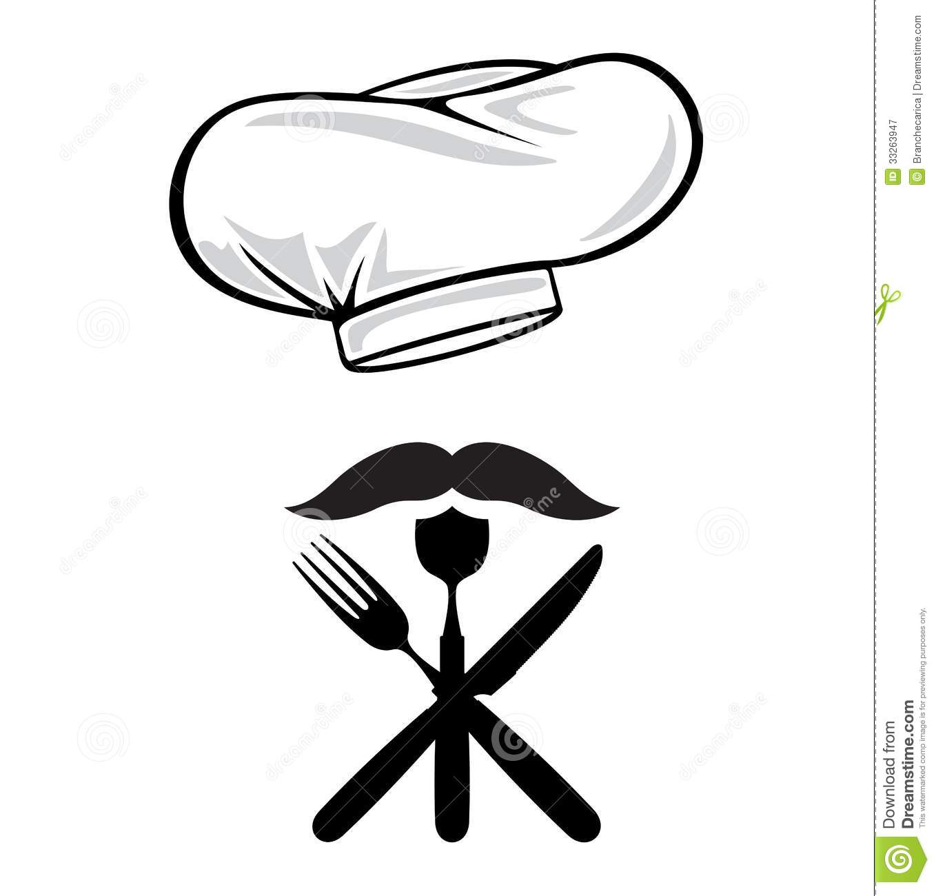 Menu Design Chef Hat W...
