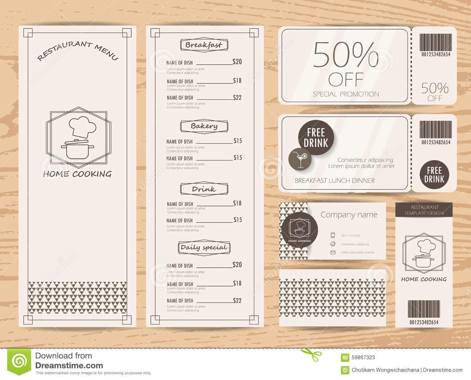Menu Design Stock Vector Illustration Of Eating Health 59867323