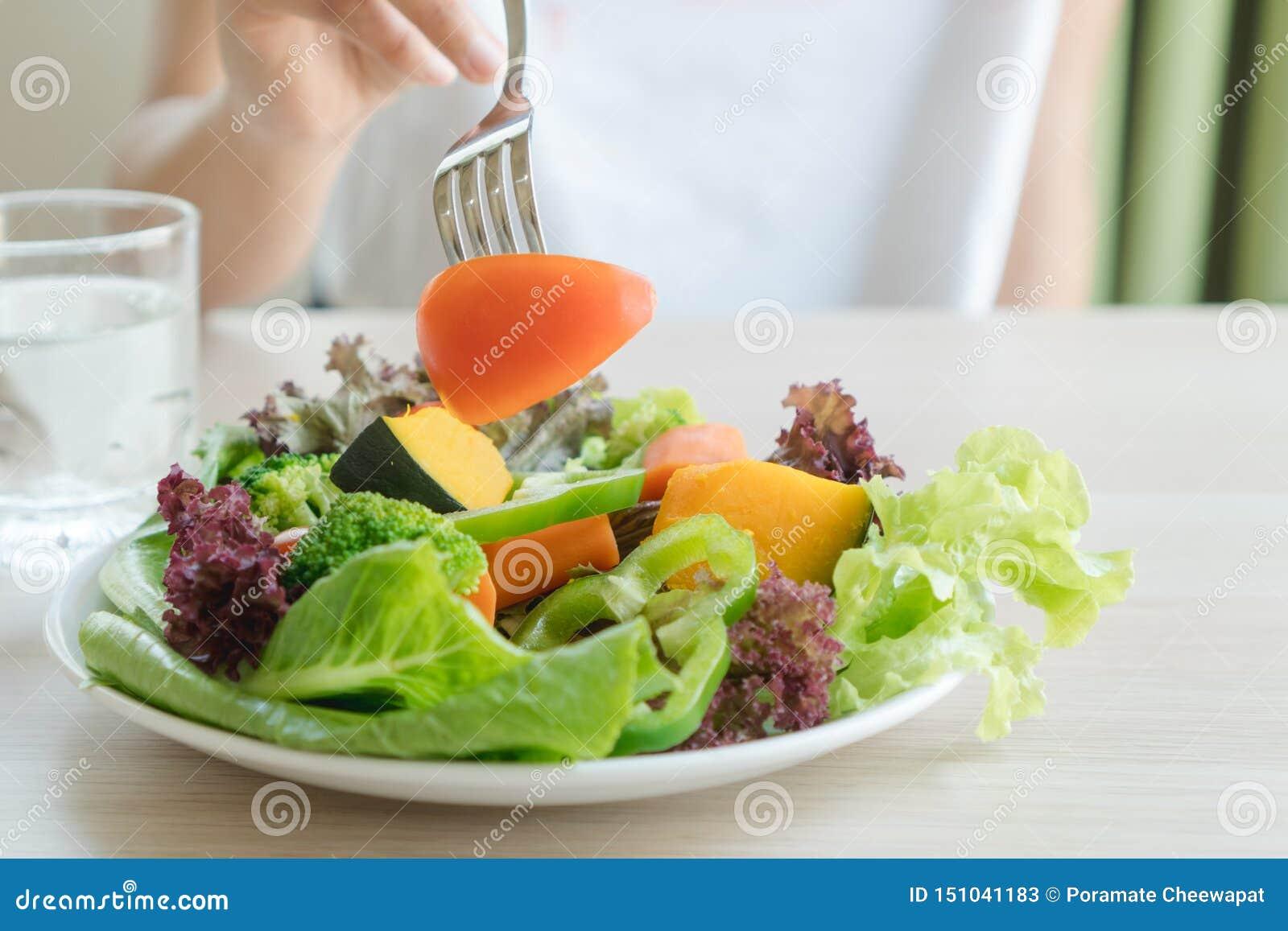 Menu do alimento para povos dietéticos