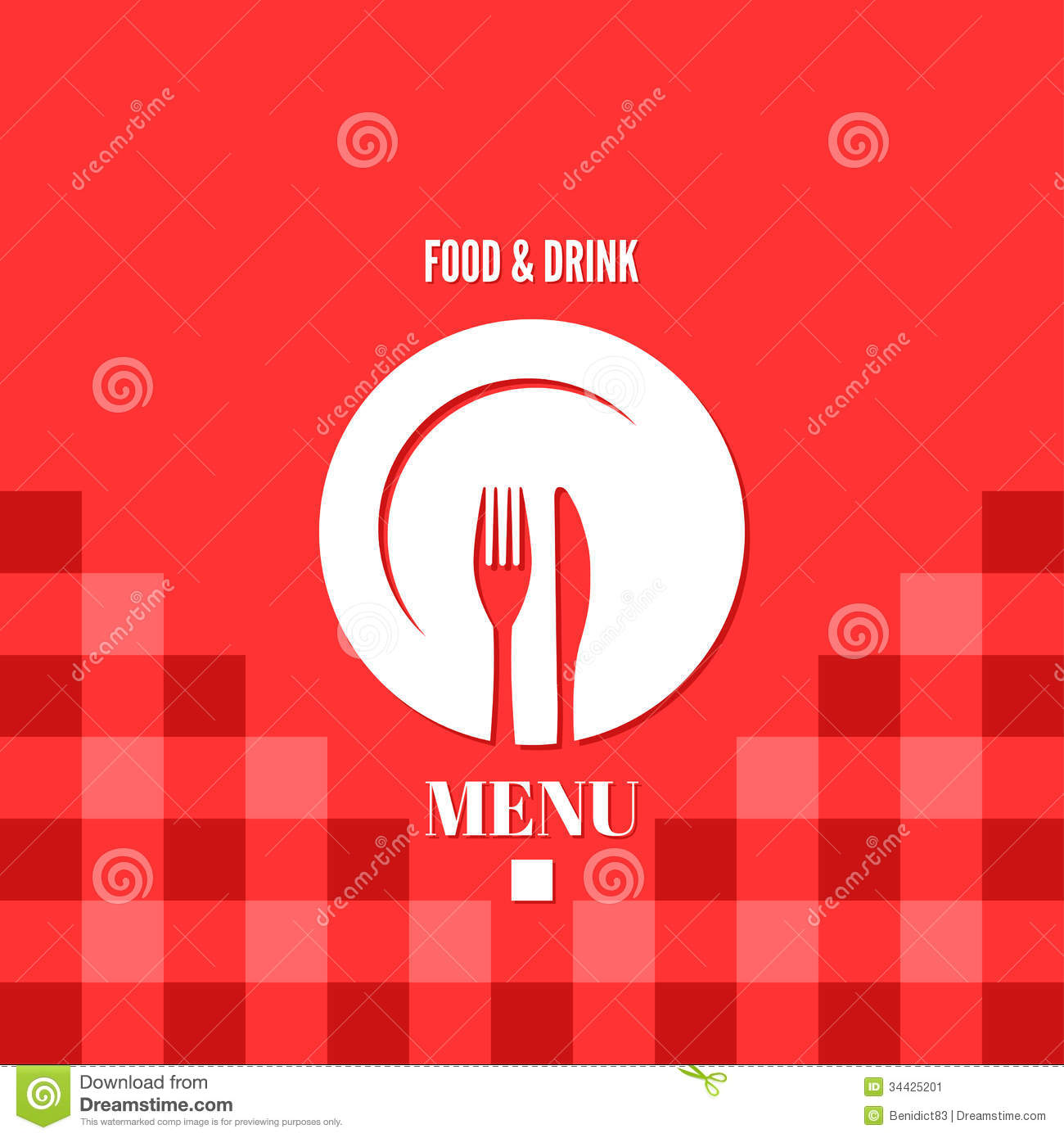 Menu Food And Drink Design Stock Image Image 34425201