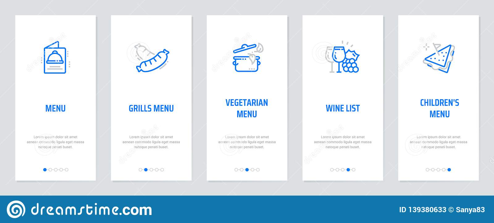 Menu, Grills Menu, Vegetarian Menu, Wine List, Children`s
