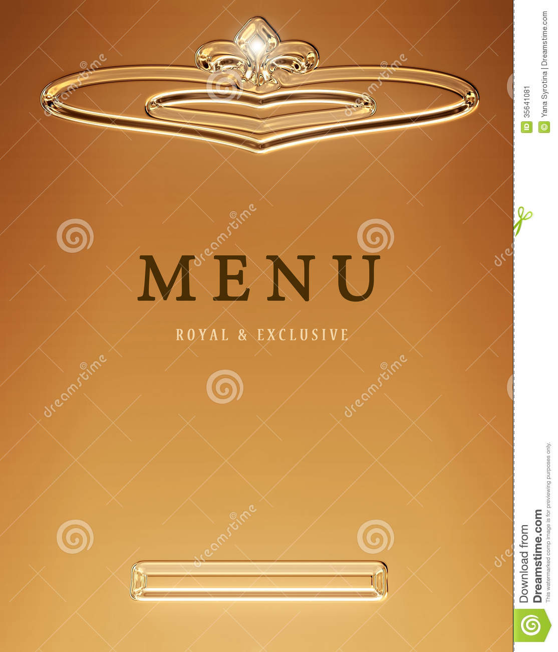Menu icon stock image
