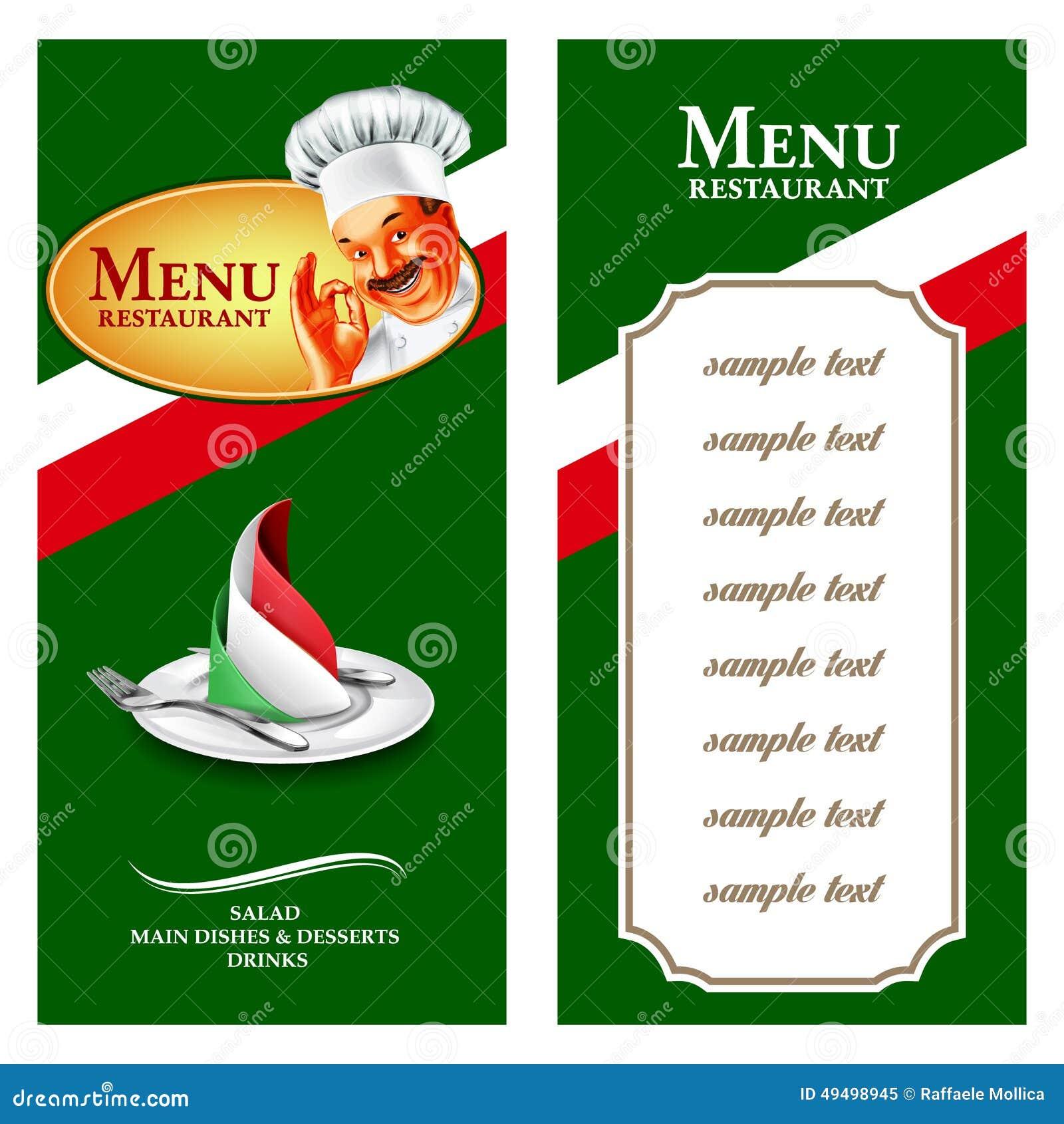 Como S Italian Restaurant Menu