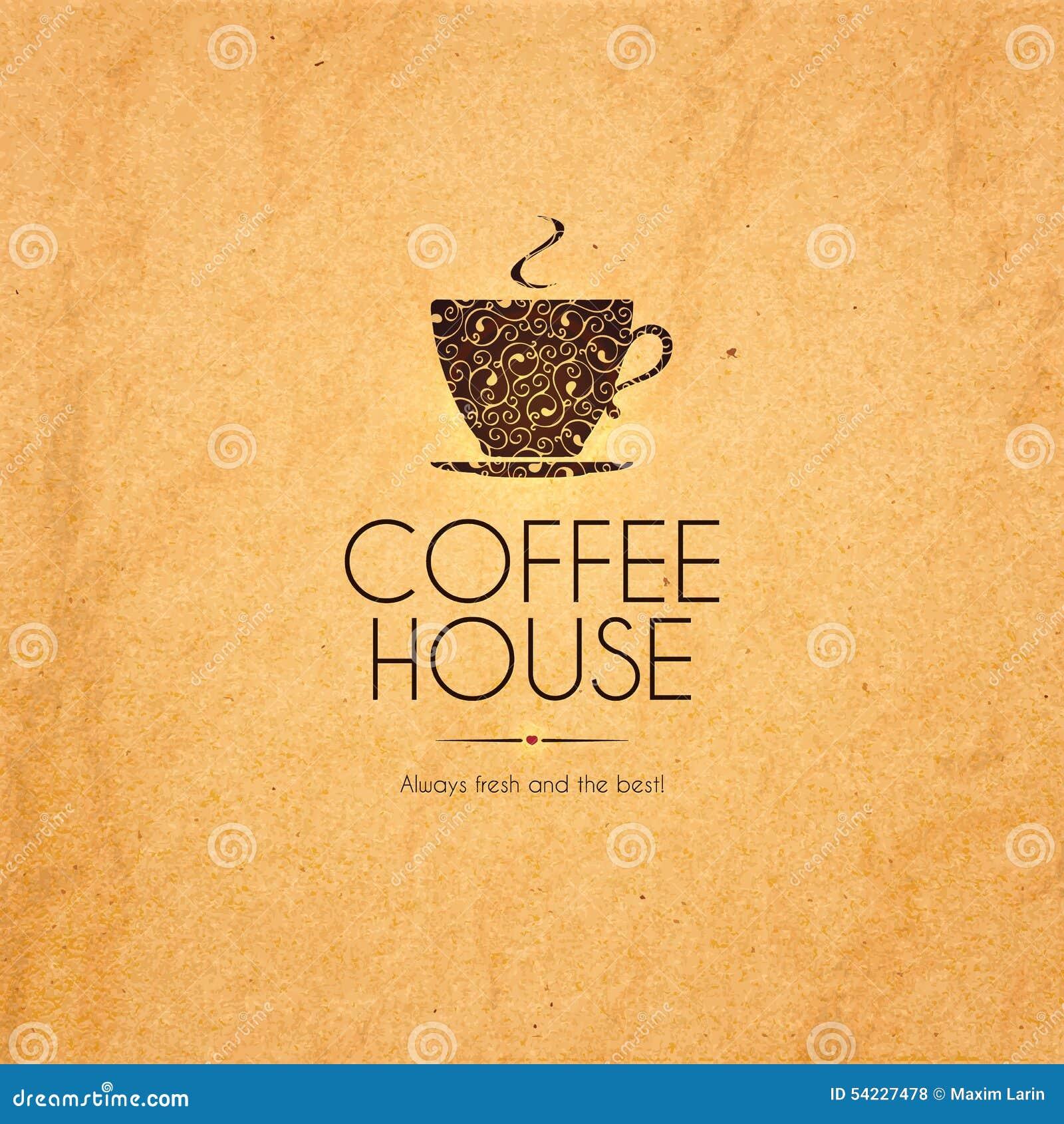 Menu For Restaurant Cafe Bar Coffee House Stock Vector