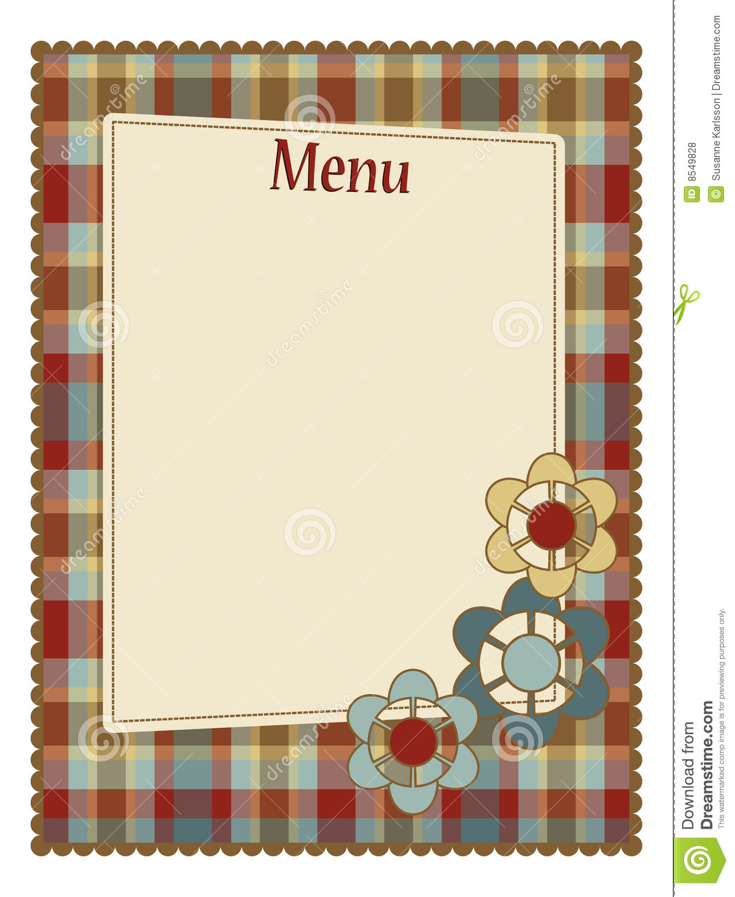 Menu template royalty free stock photos image 8549828 for Menue templates