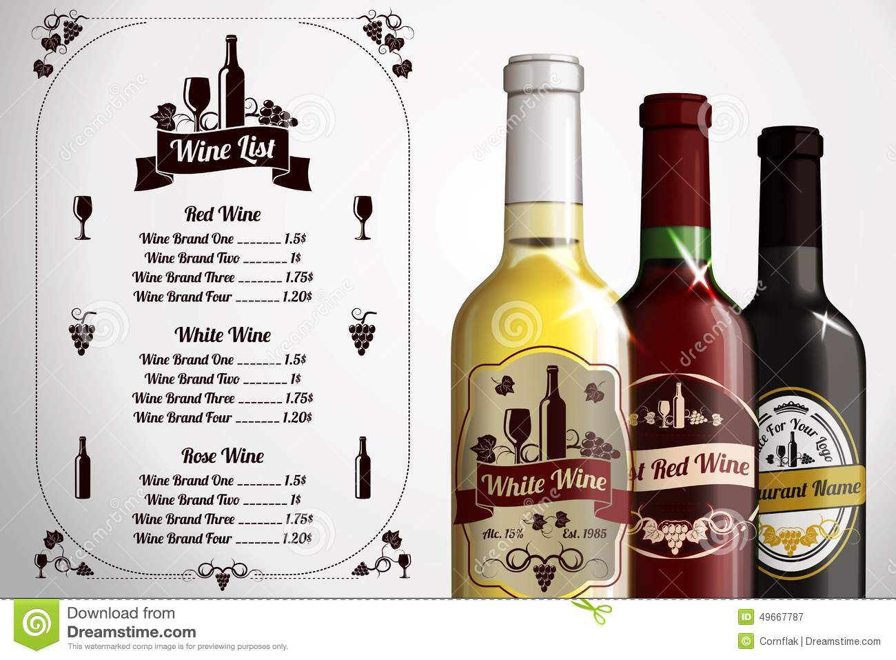 liquor label template - Gidiye.redformapolitica.co