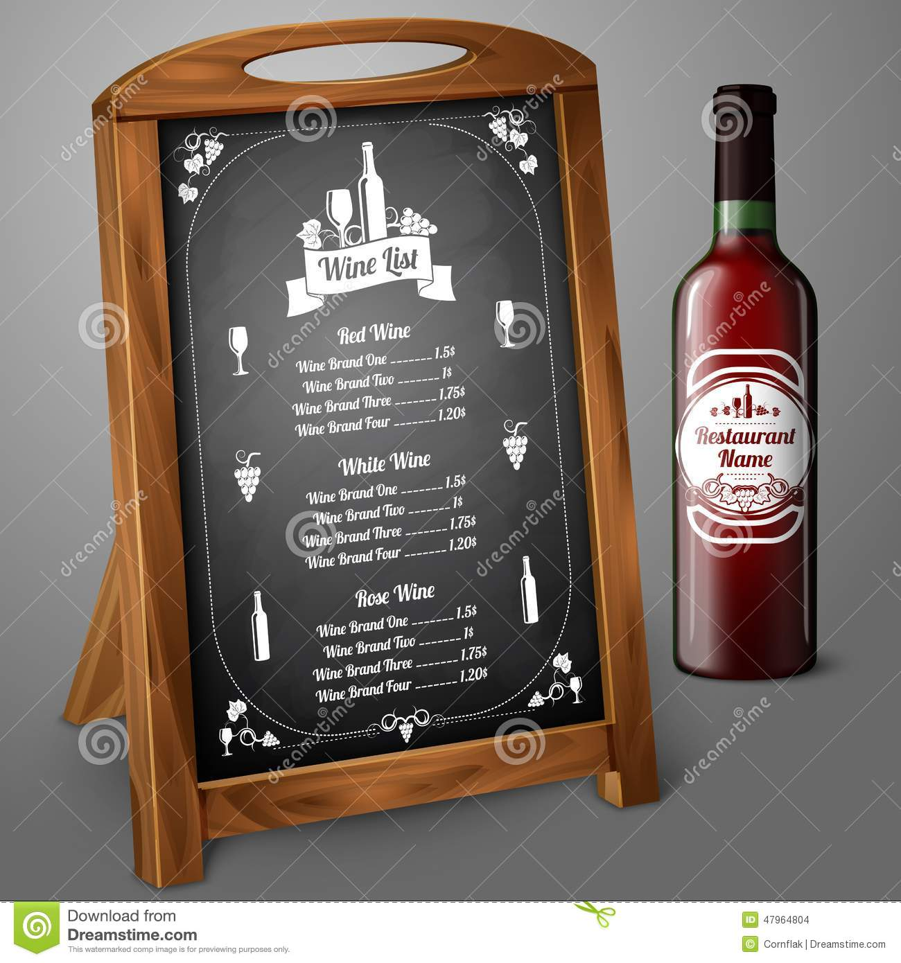 wine menu templates 31 free psd eps documents download free