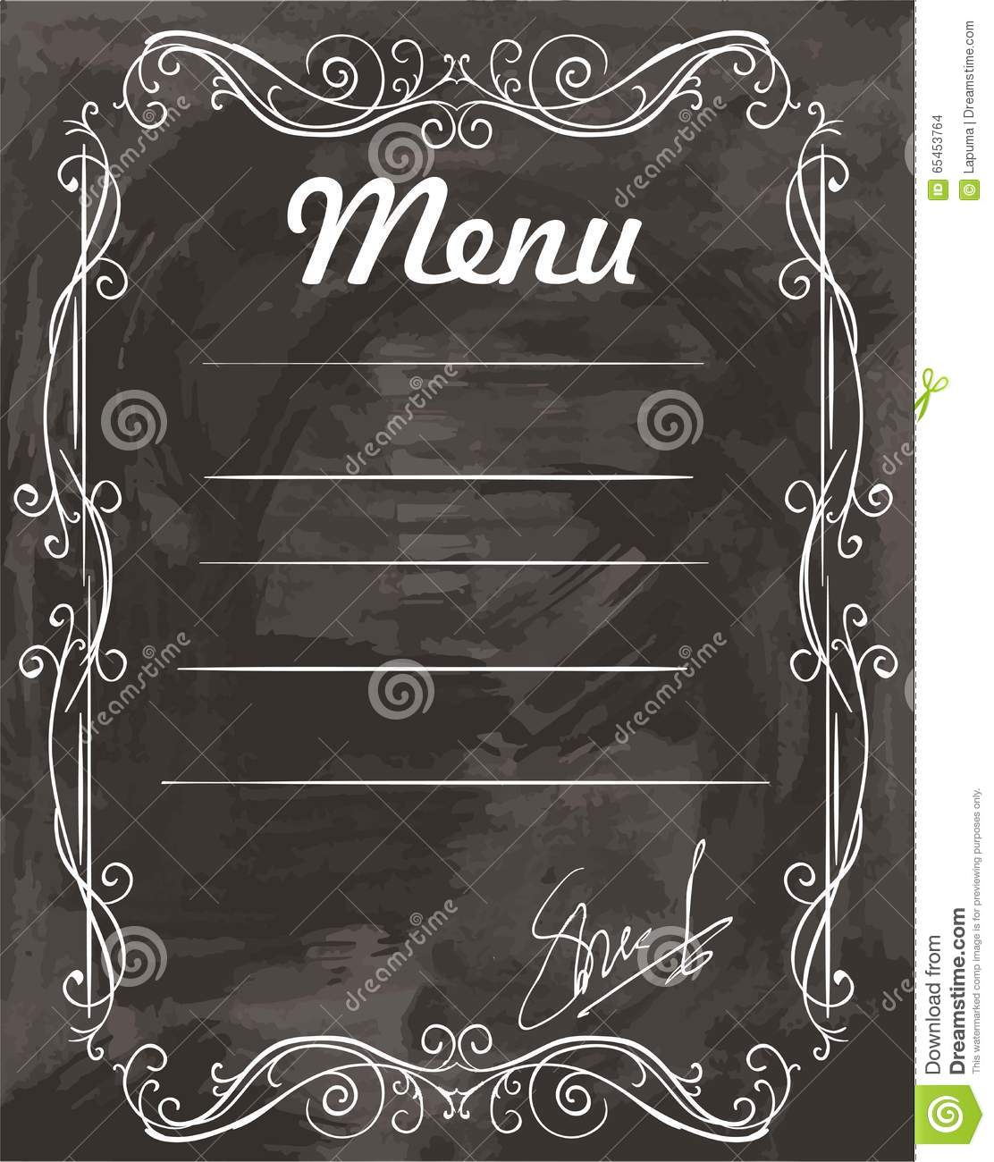 Cafe Cru Menu