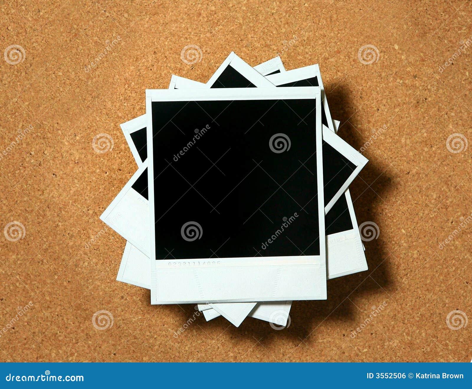 Menzogne dei blocchi per grafici del Polaroid dell annata
