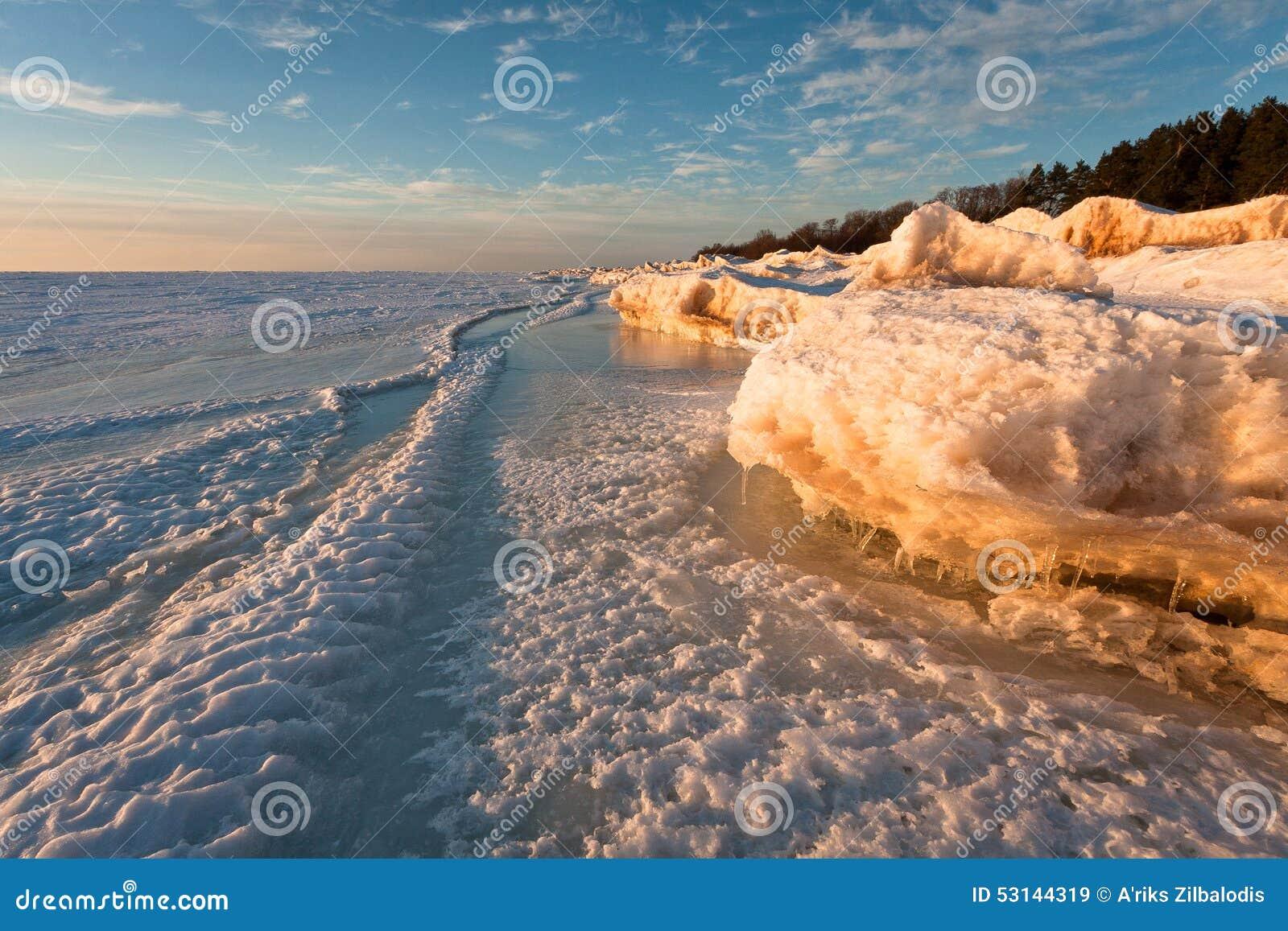 Mer congelée