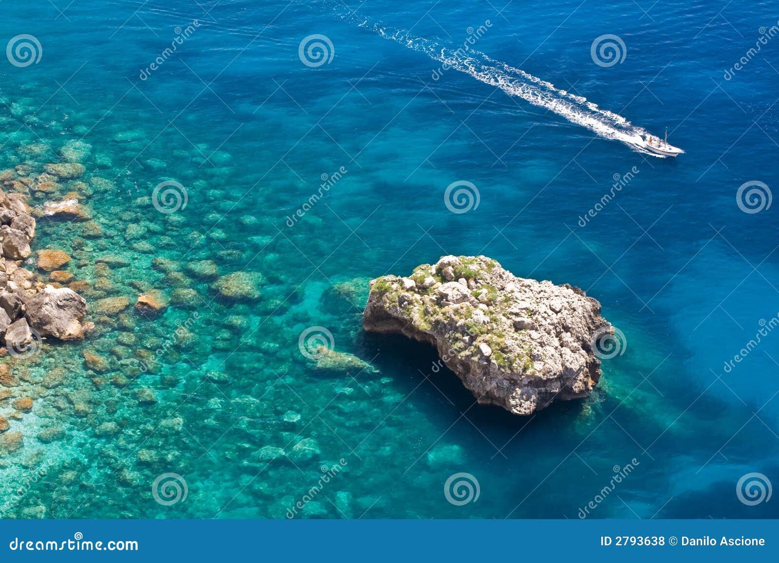 Mer dans Capri