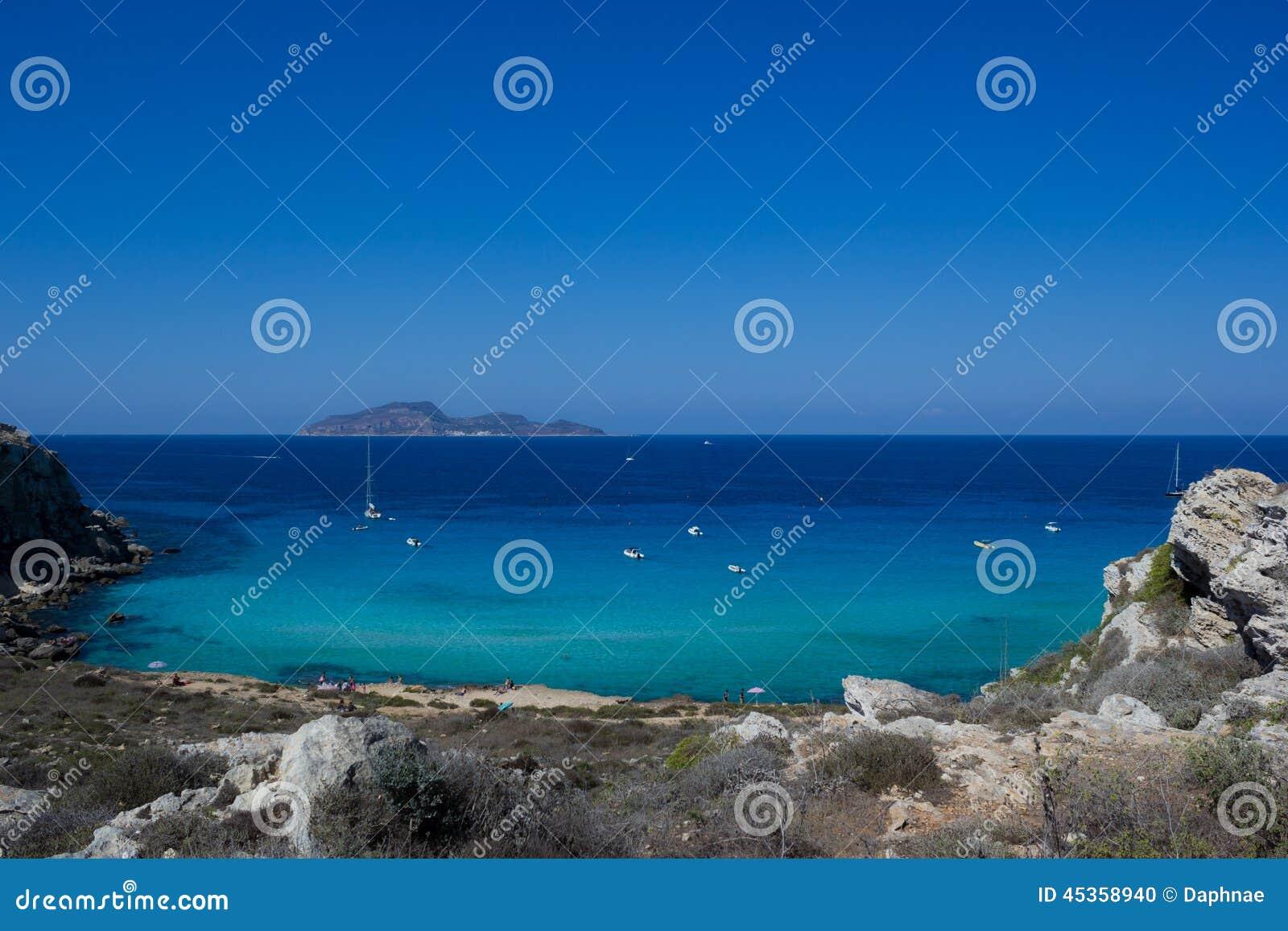 Mer de Favignanas