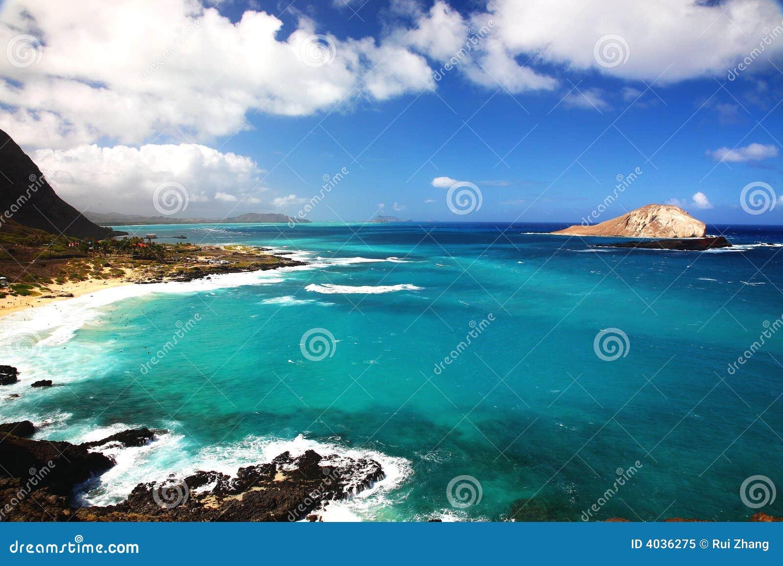 Mer en Hawaï