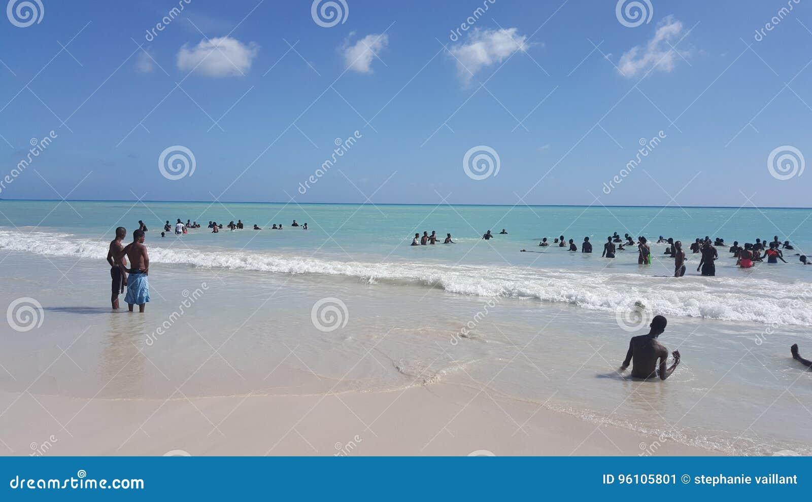 Mer en le Haïti