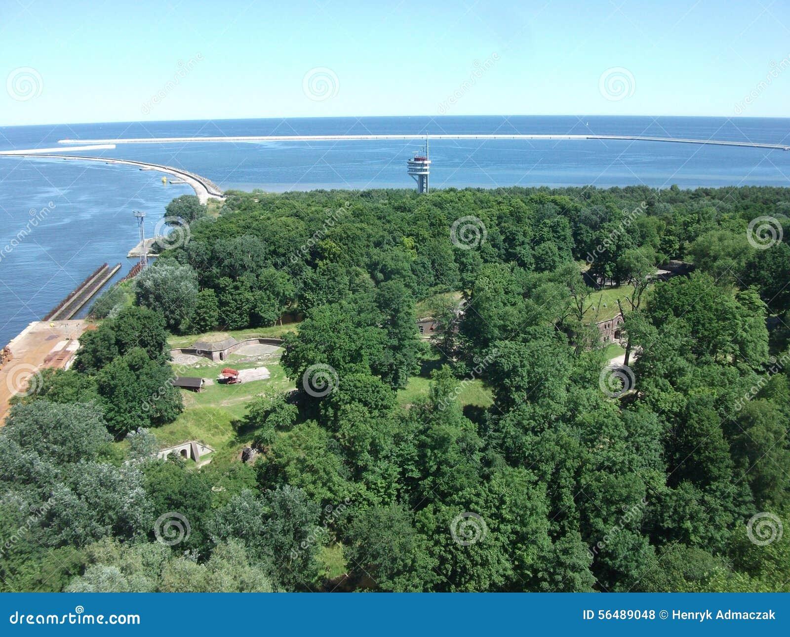 Mer et forêt du› cie de ÅšwinoujÅ en Pologne
