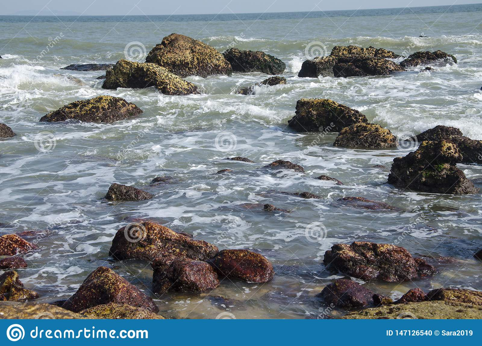 Mer et roches