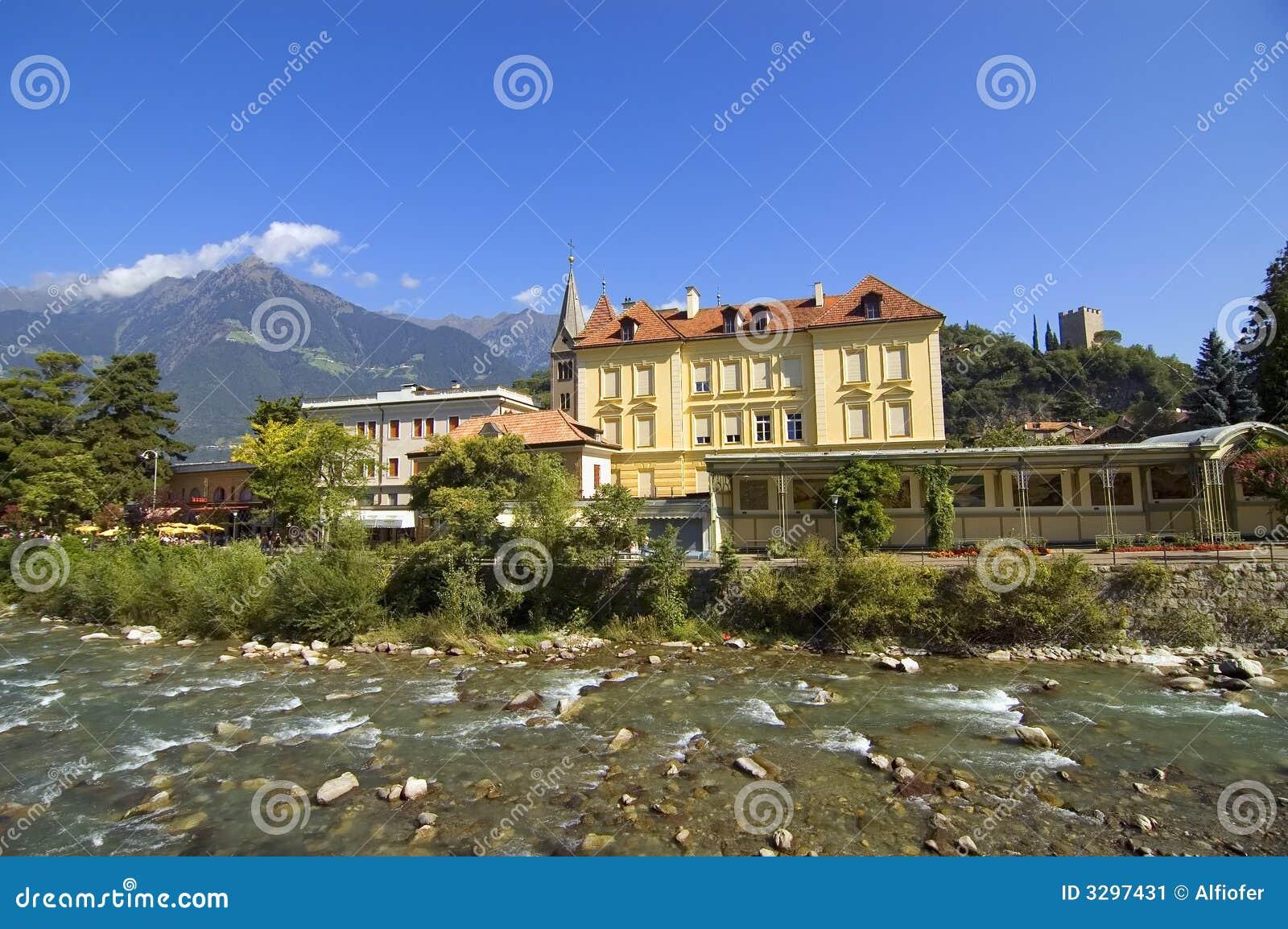 Merano, lessive le Tirol, Italie