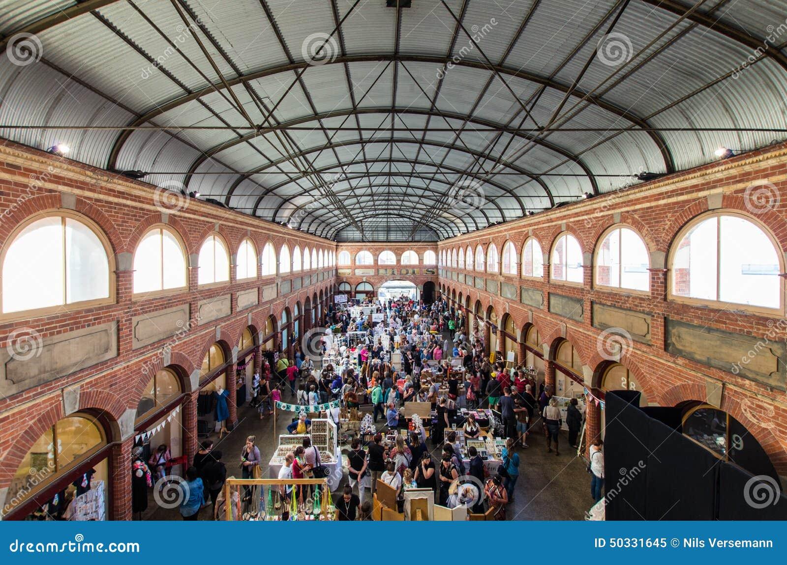 Mercado da arte e do ofício na troca da mineração de Ballarat