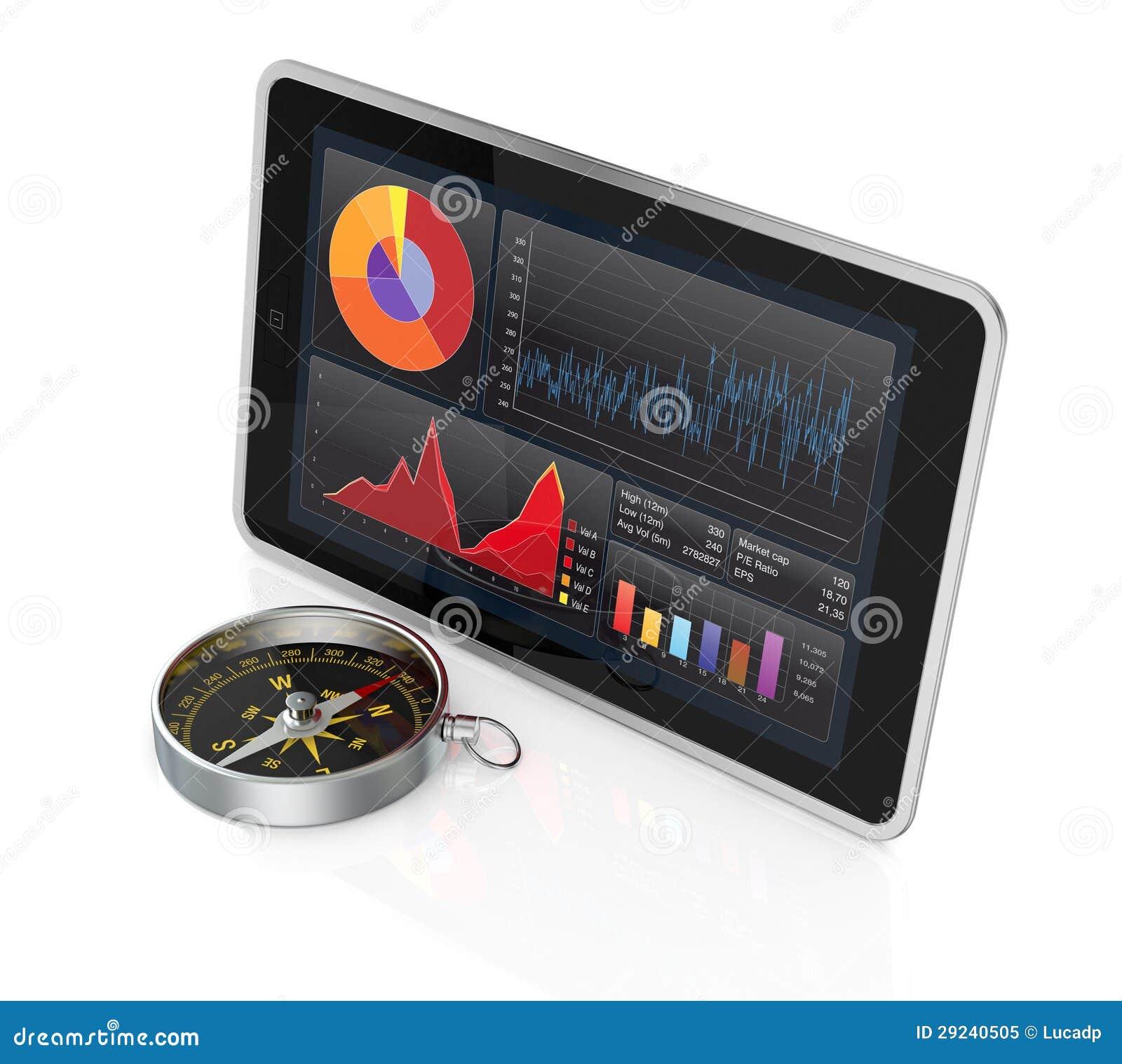 Download Mercado De Valores De Acção E Tecnologia, Conceito Ilustração Stock - Ilustração de conceito, moderno: 29240505