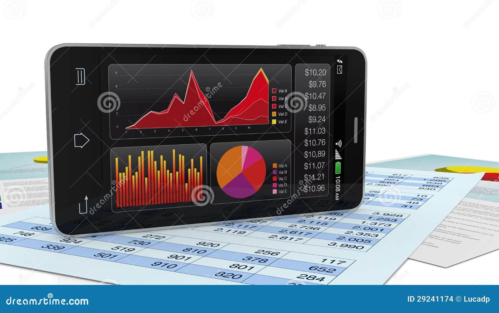 Download Mercado De Valores De Acção E Tecnologia, Conceito Ilustração Stock - Ilustração de financeiro, crescimento: 29241174
