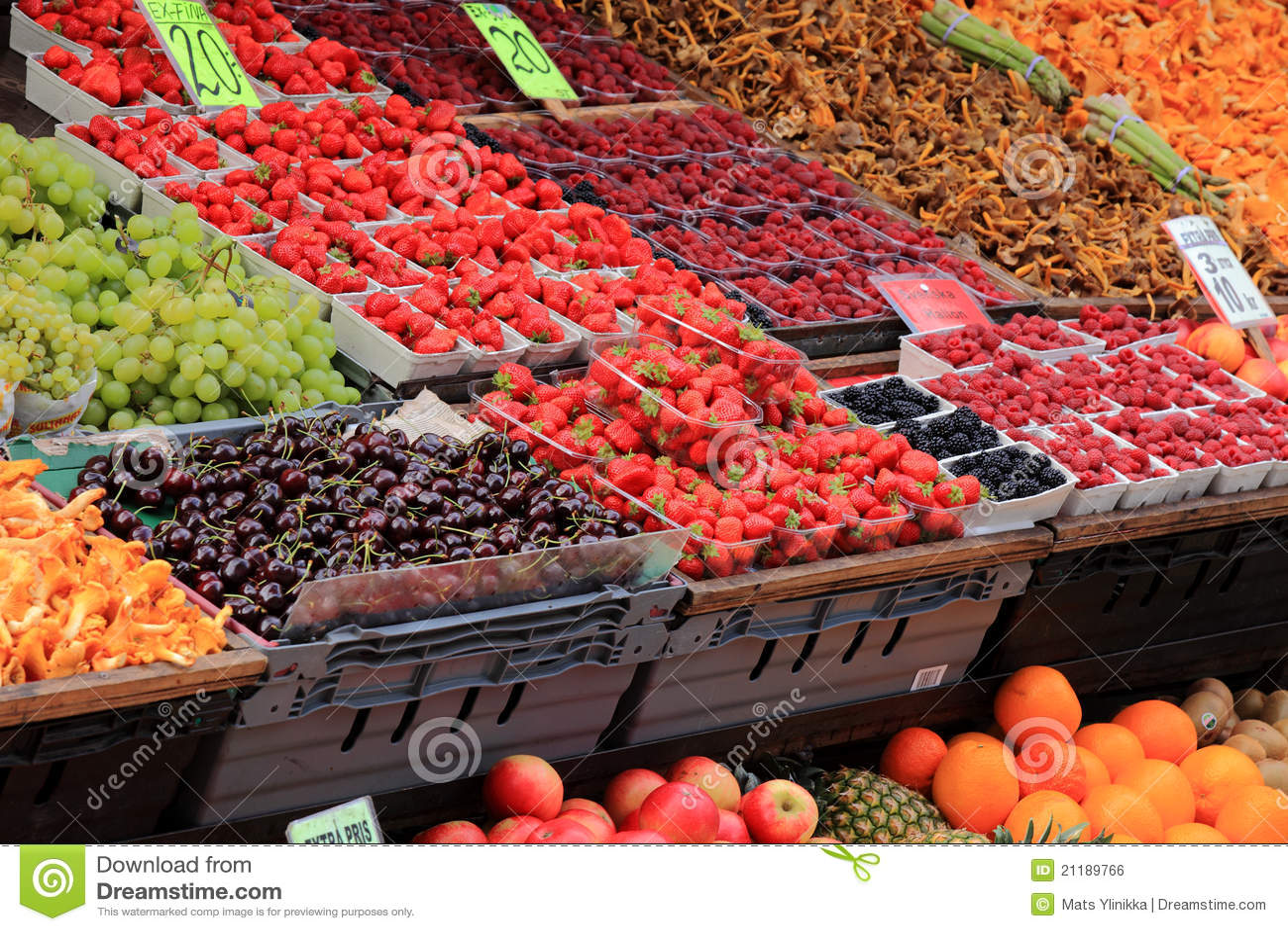 Mercado del alimento
