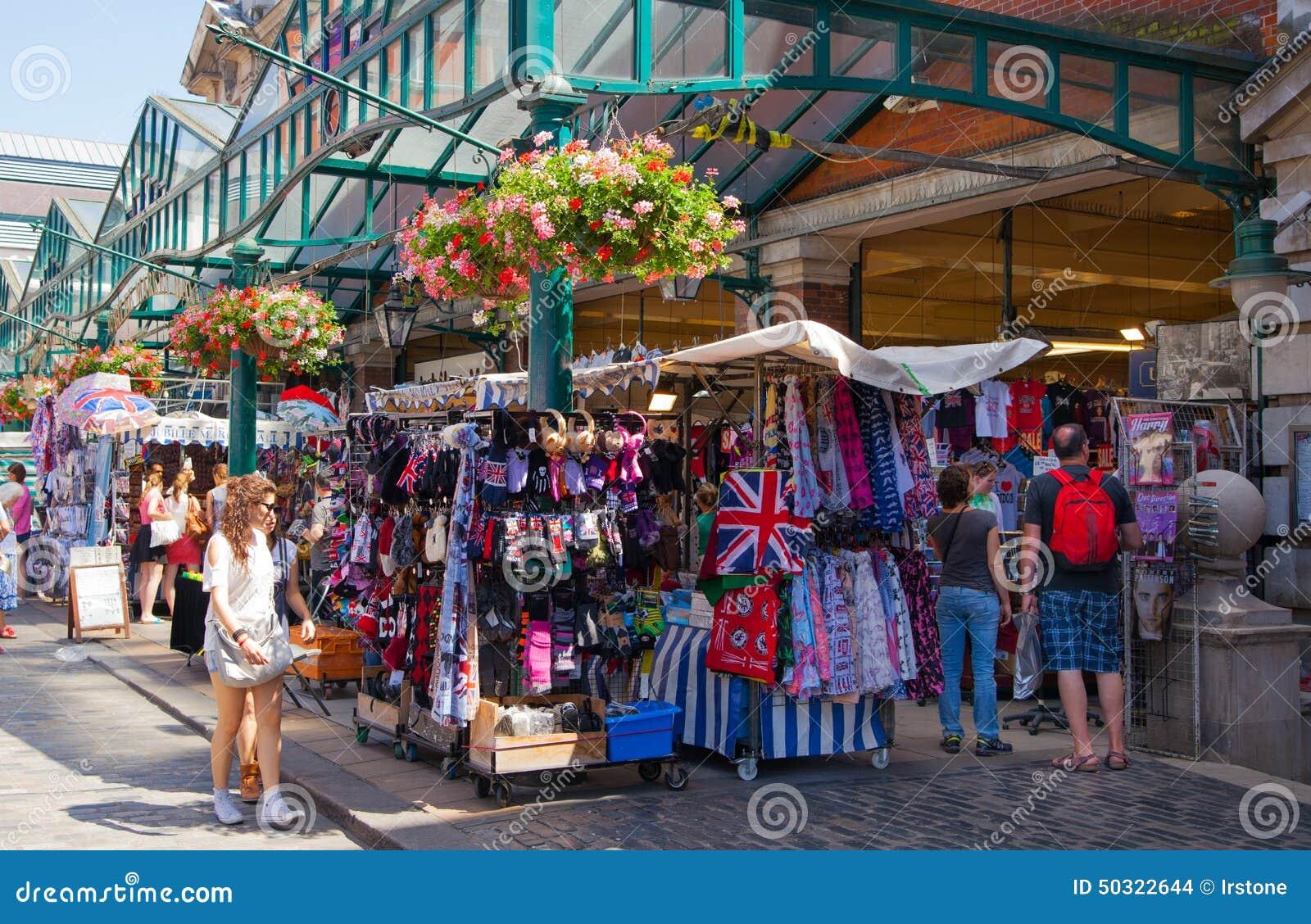 Mercado do jardim de Covent, Londres