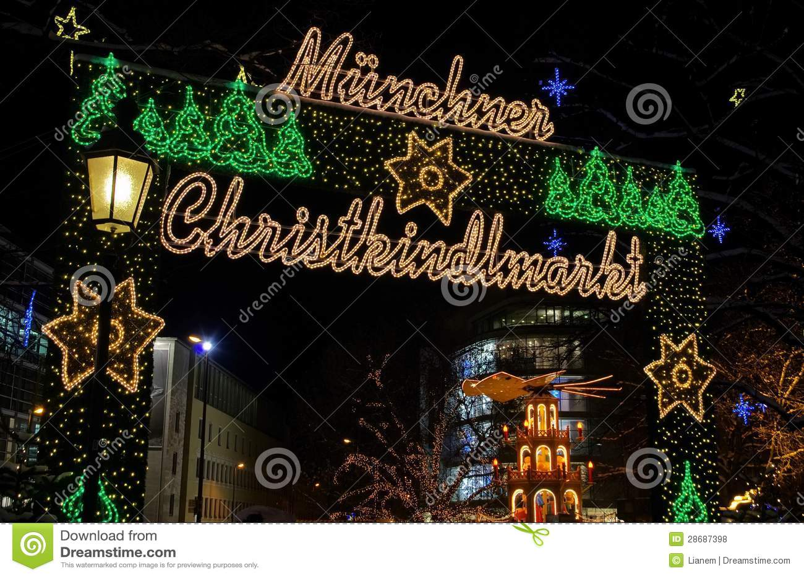 Mercado do Natal de Munich