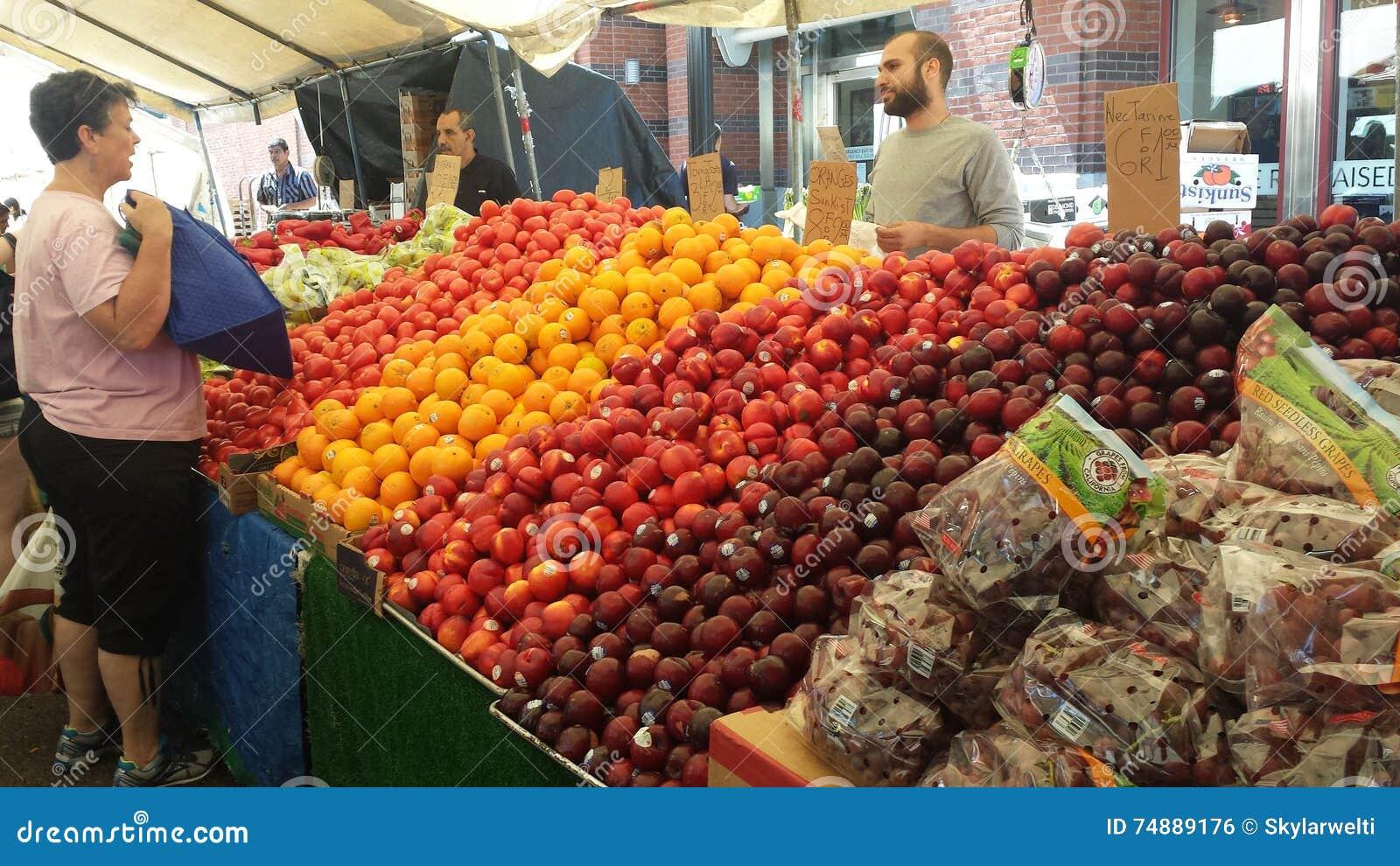 Mercado dos fazendeiros de Boston