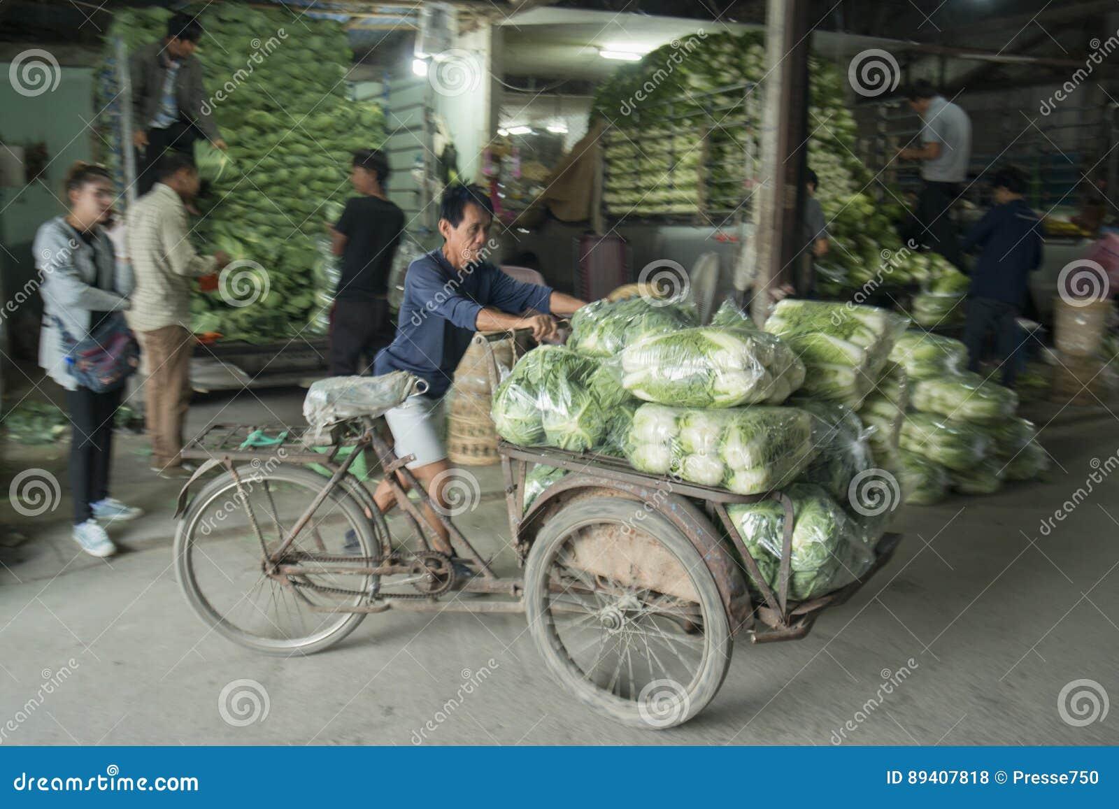 MERCADO FEGETABLE DE TAILÂNDIA CHIANG RAI