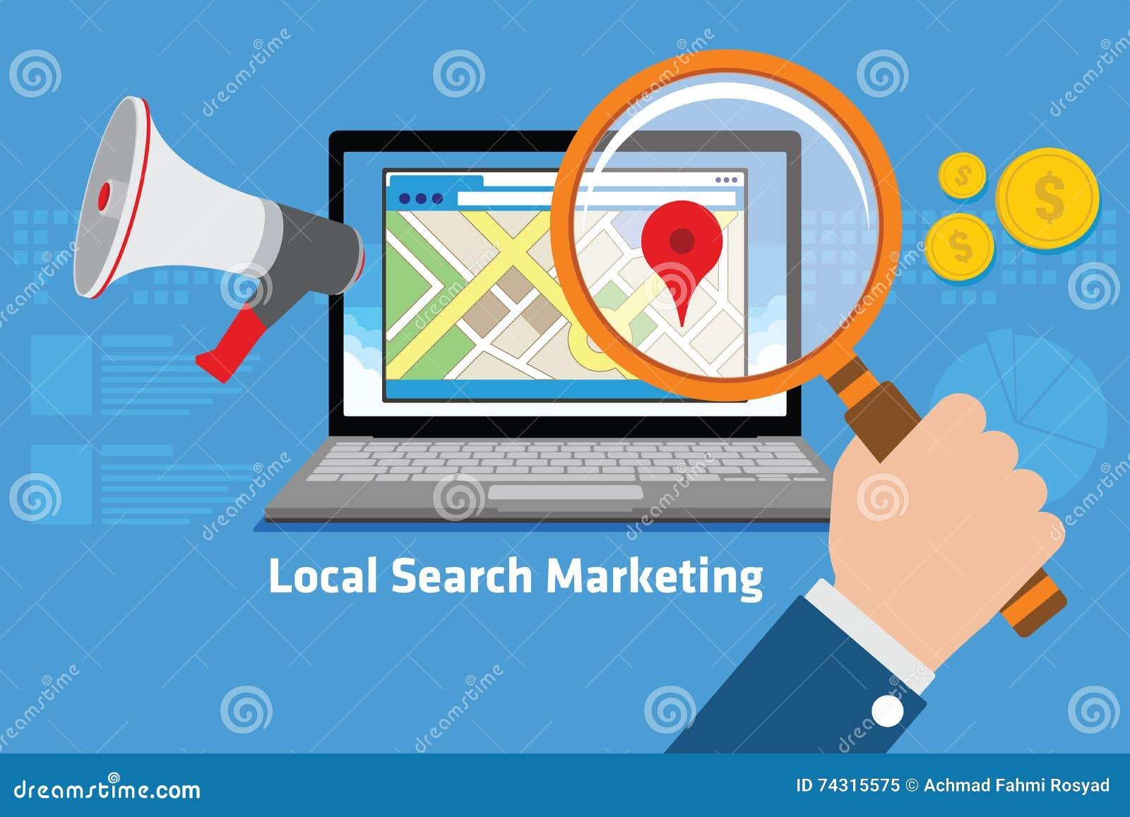 Mercado local da busca