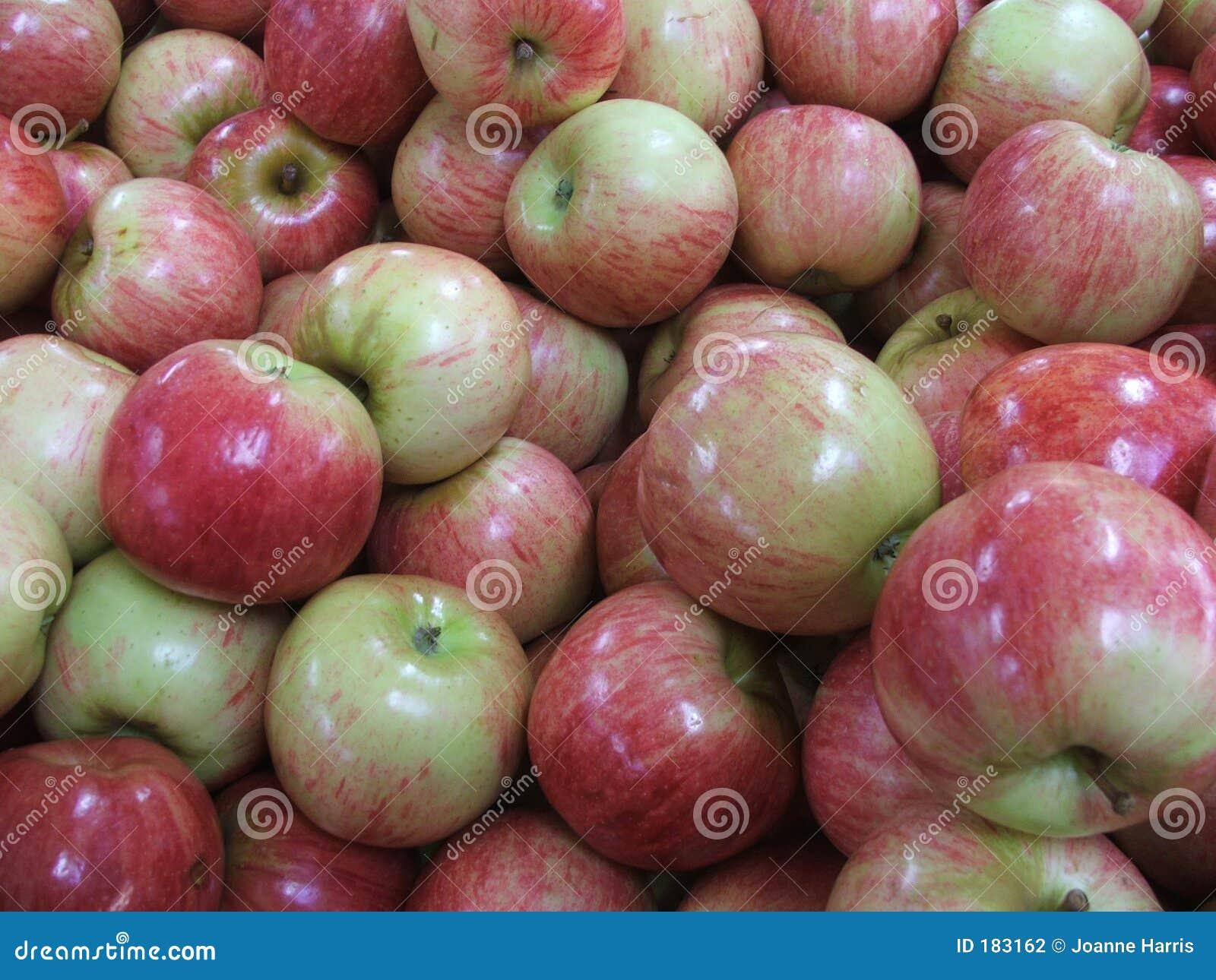 Mercado - manzanas