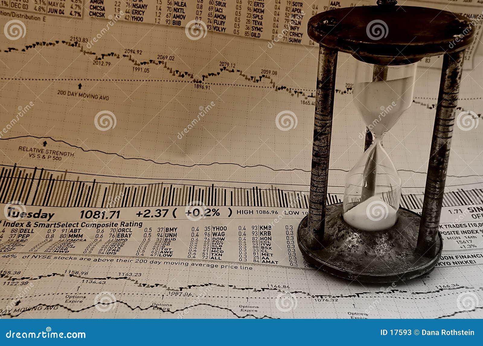 Mercado que mide el tiempo de 3