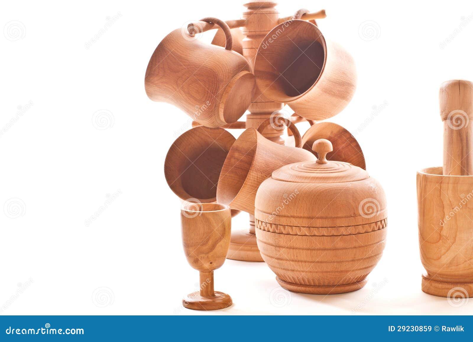 Download Mercadorias de madeira imagem de stock. Imagem de branco - 29230859
