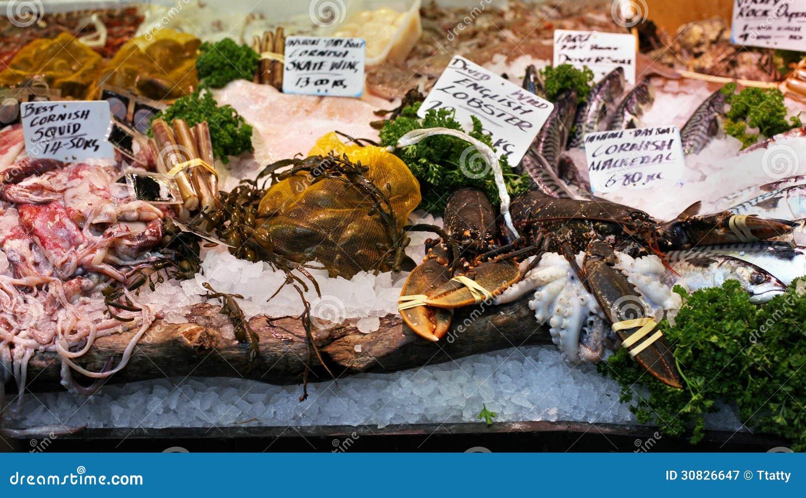Mercato dei crostacei