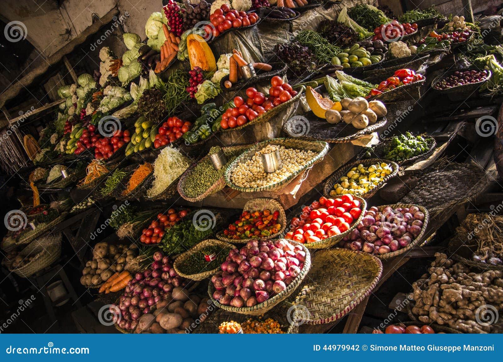 Mercato dell alimento, Madagascar