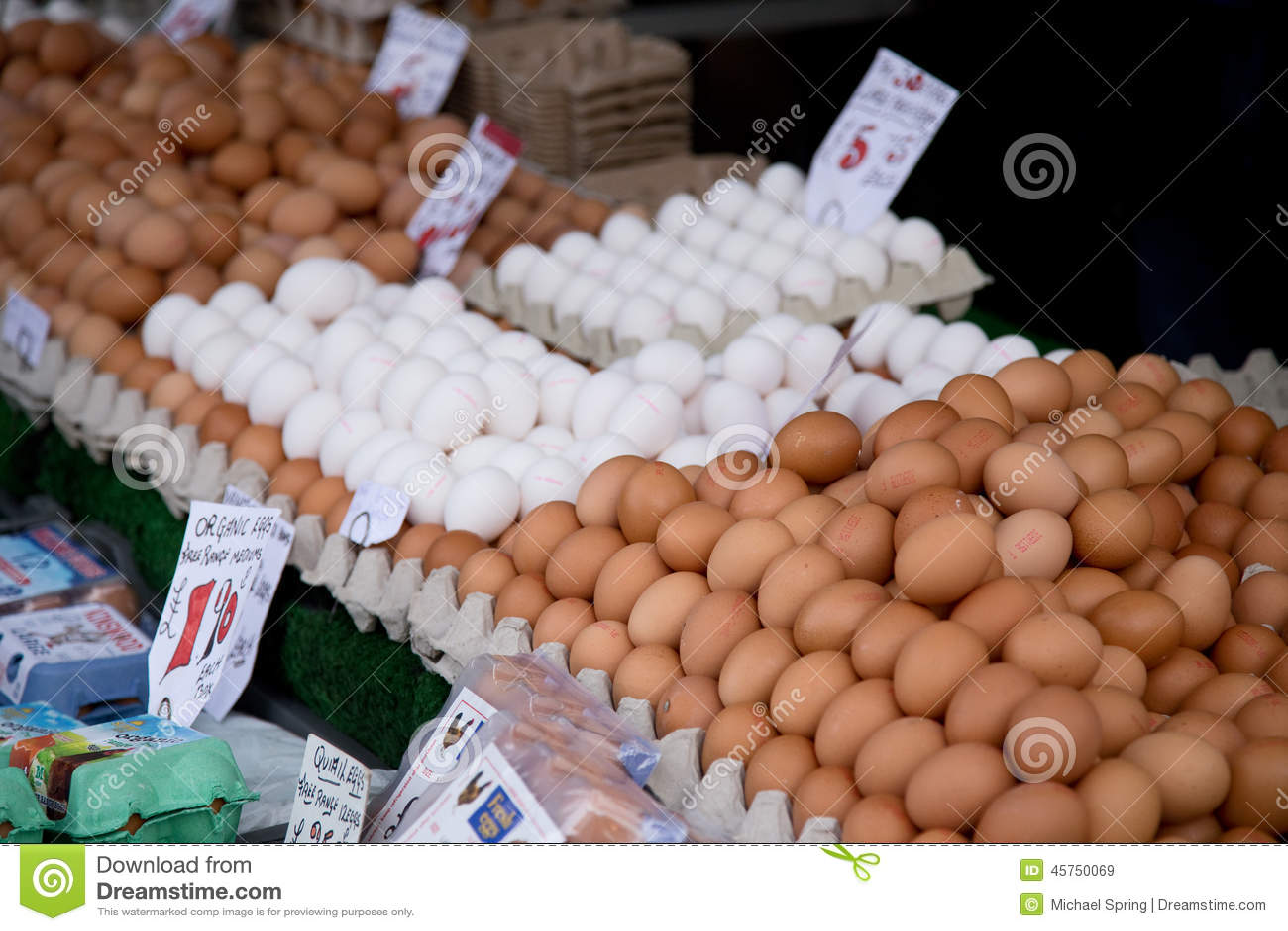 Mercato delle uova