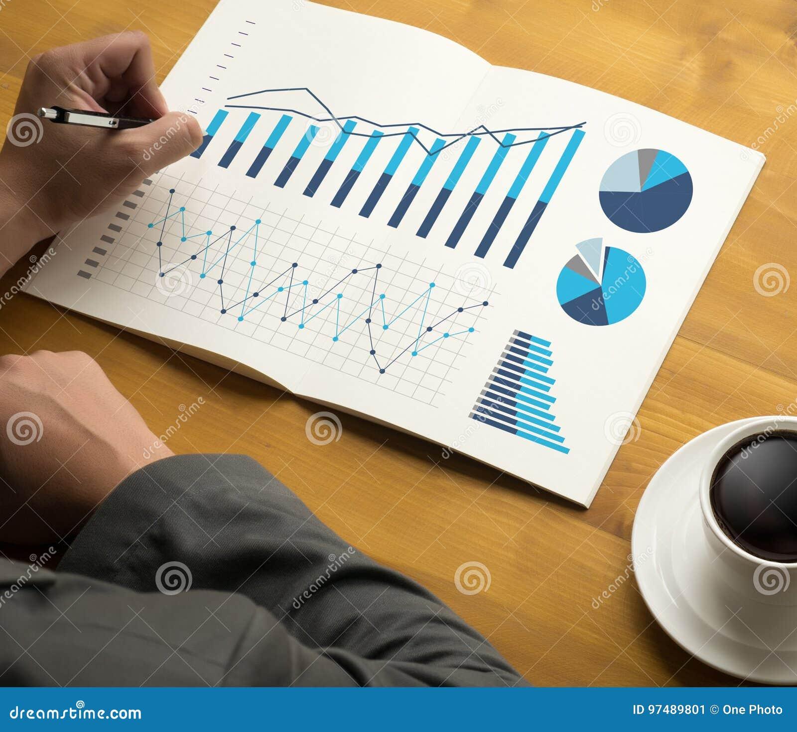 Mercato di aumento di crescita del diagramma di dati di gestione di analisi di statistiche