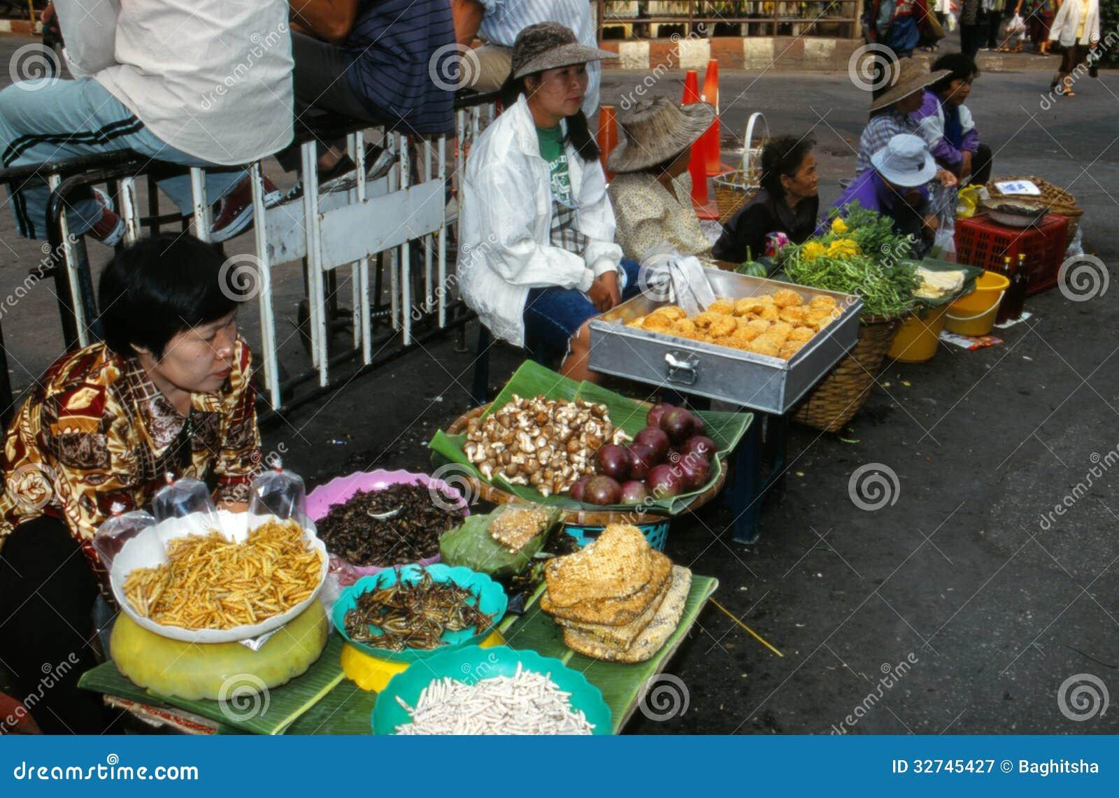 Mercato in Tailandia.