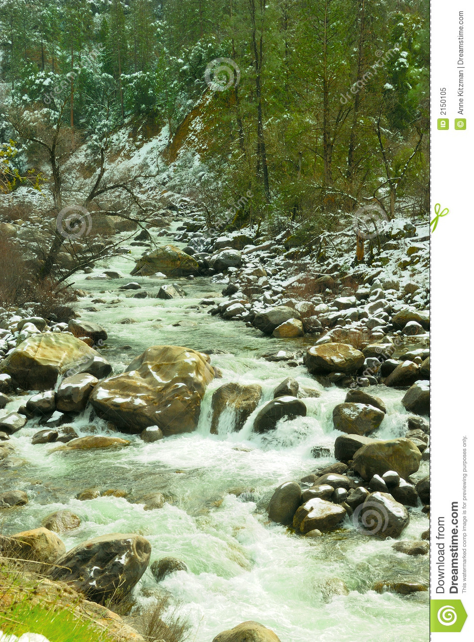 Merced river waterfall royalty free stock photo image for Landscaping rocks merced ca