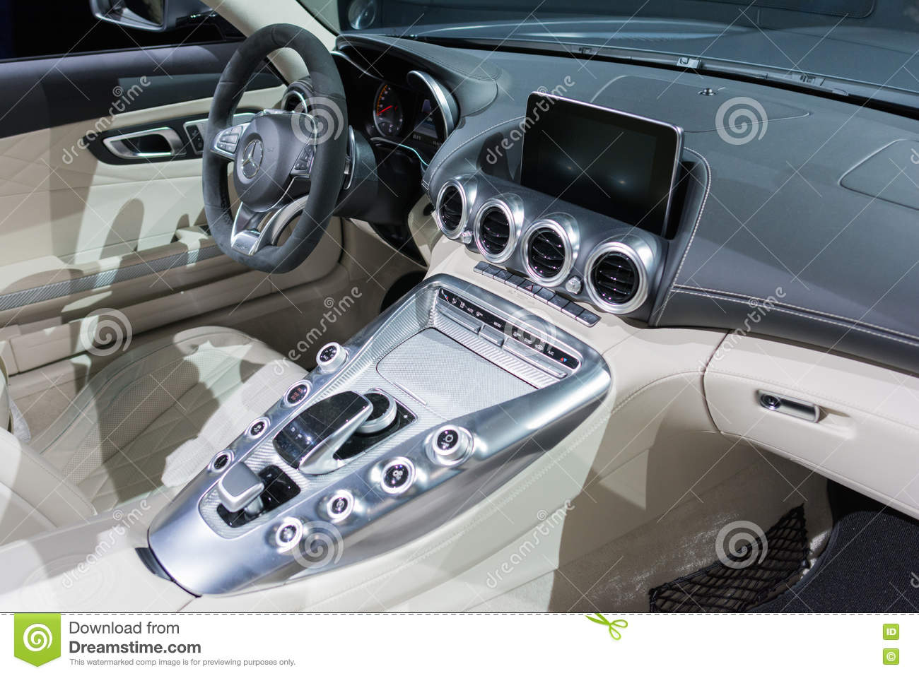 Mercedes Amg Gt C Roadster Interior Editorial Photography Image Of Brand Economic 80832082