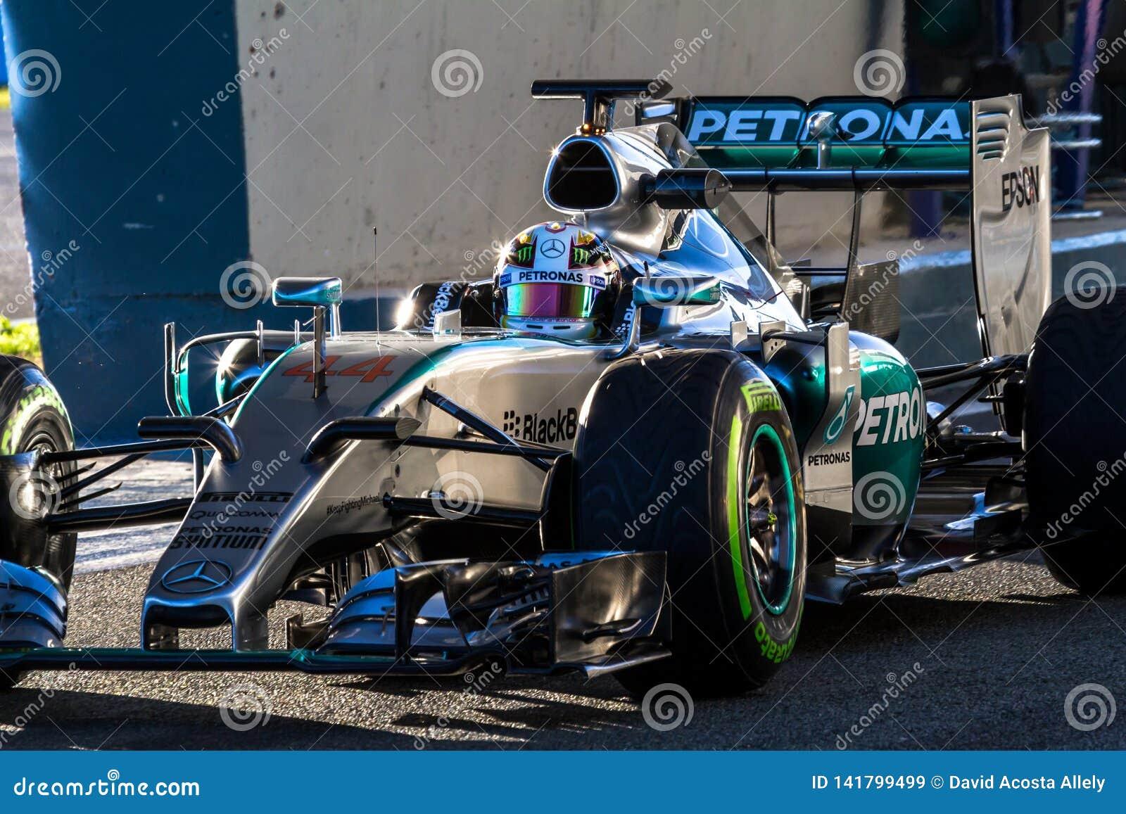 Mercedes AMG Petronas F1, Lewis Hamilton, 2015
