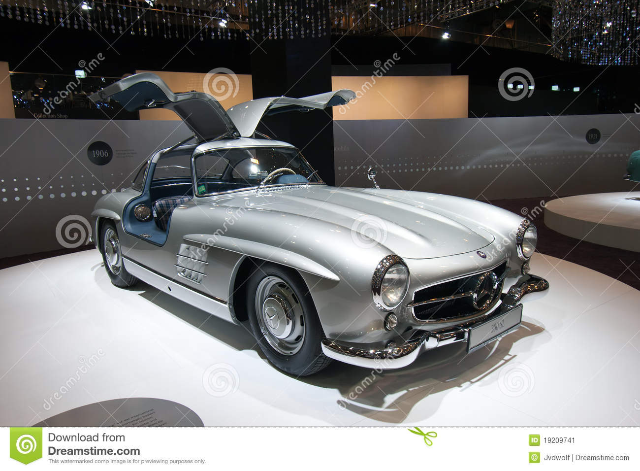 mercedes benz 300 sl photo ditorial image du essen. Black Bedroom Furniture Sets. Home Design Ideas