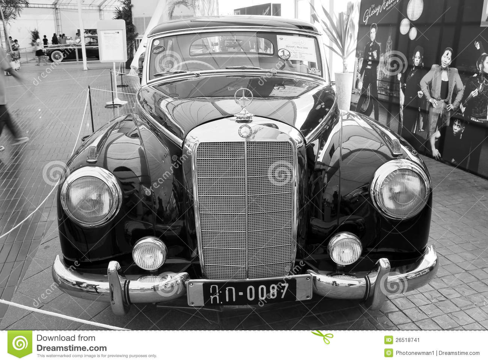 Mercedes-Benz 300B, carros do vintage