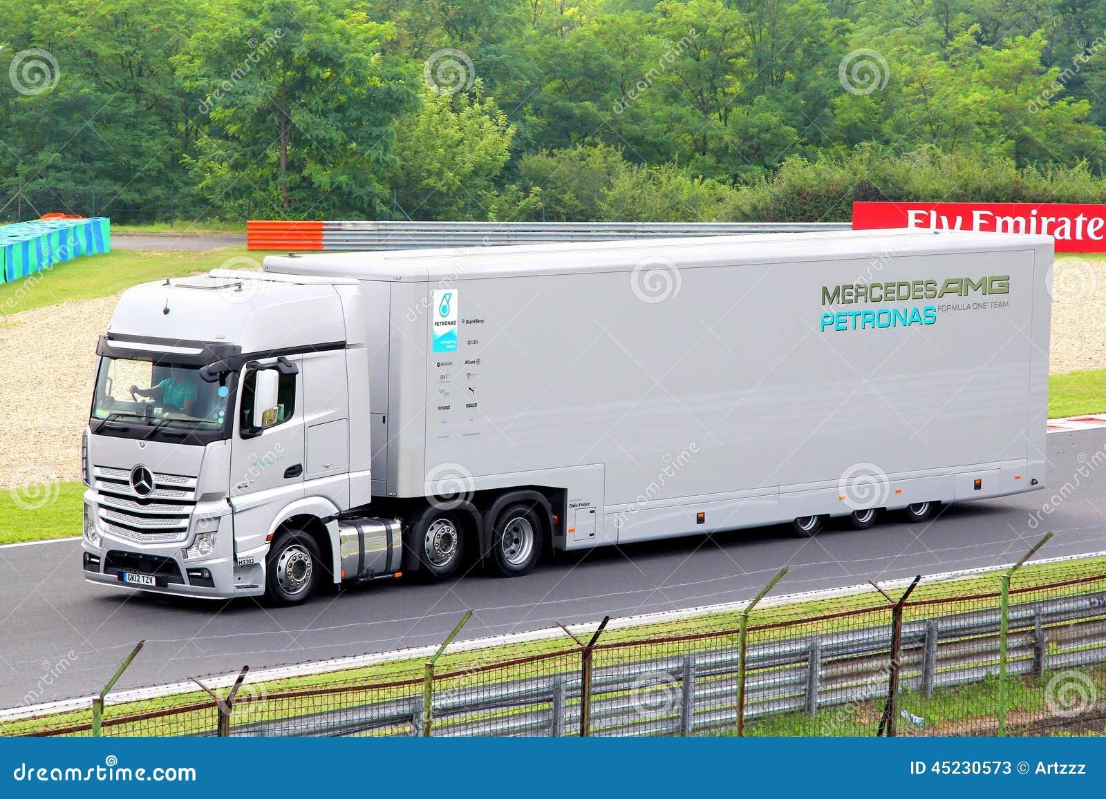 mercedes benz actros photo stock ditorial image du europ en 45230573. Black Bedroom Furniture Sets. Home Design Ideas