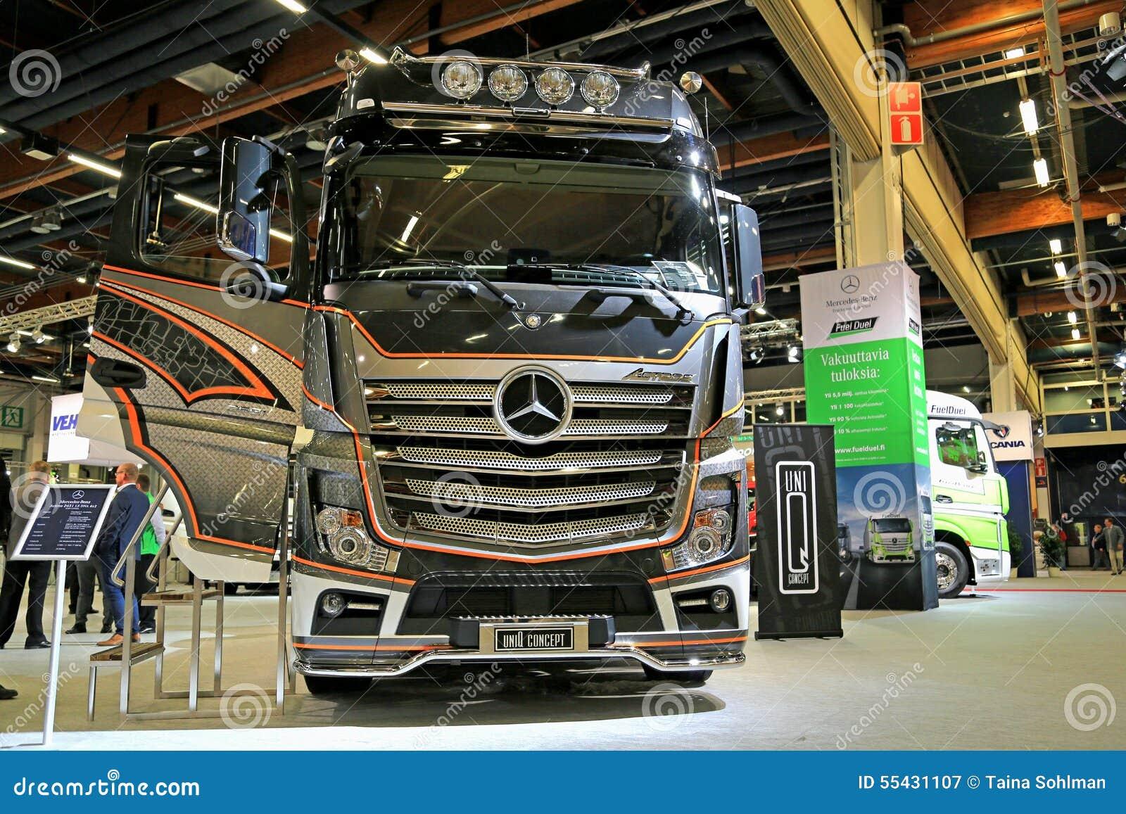 HELSINKI, FINLAND - JUNE 11, 2015: Mercedes-Benz Finland presents MB ...